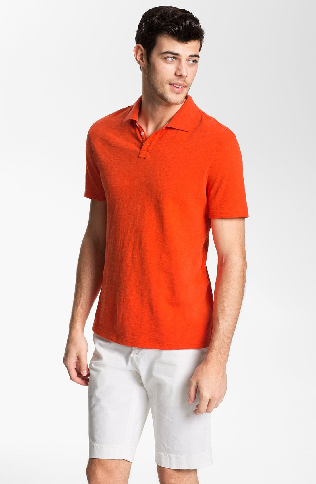 Alternate Image 1 Selected - Vince Trim Fit Polo