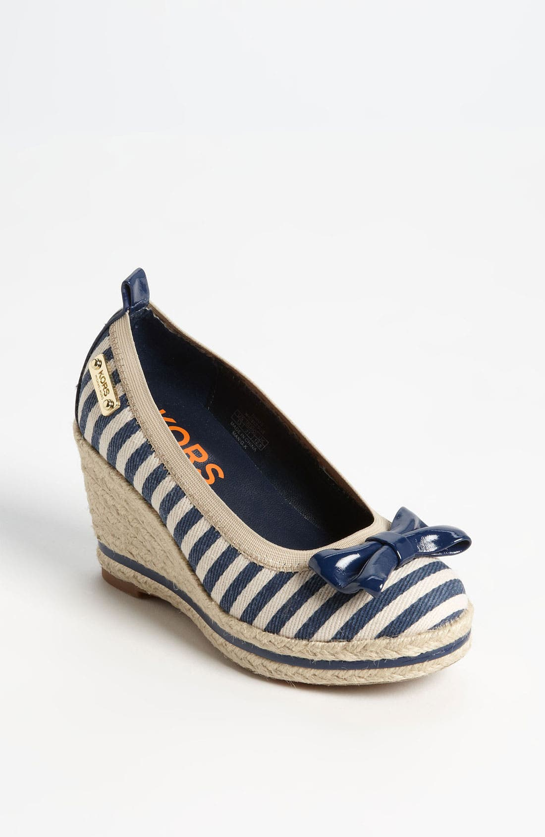 Main Image - KORS Michael Kors 'Tomato' Espadrille Slip-On (Little Kid & Big Kid)