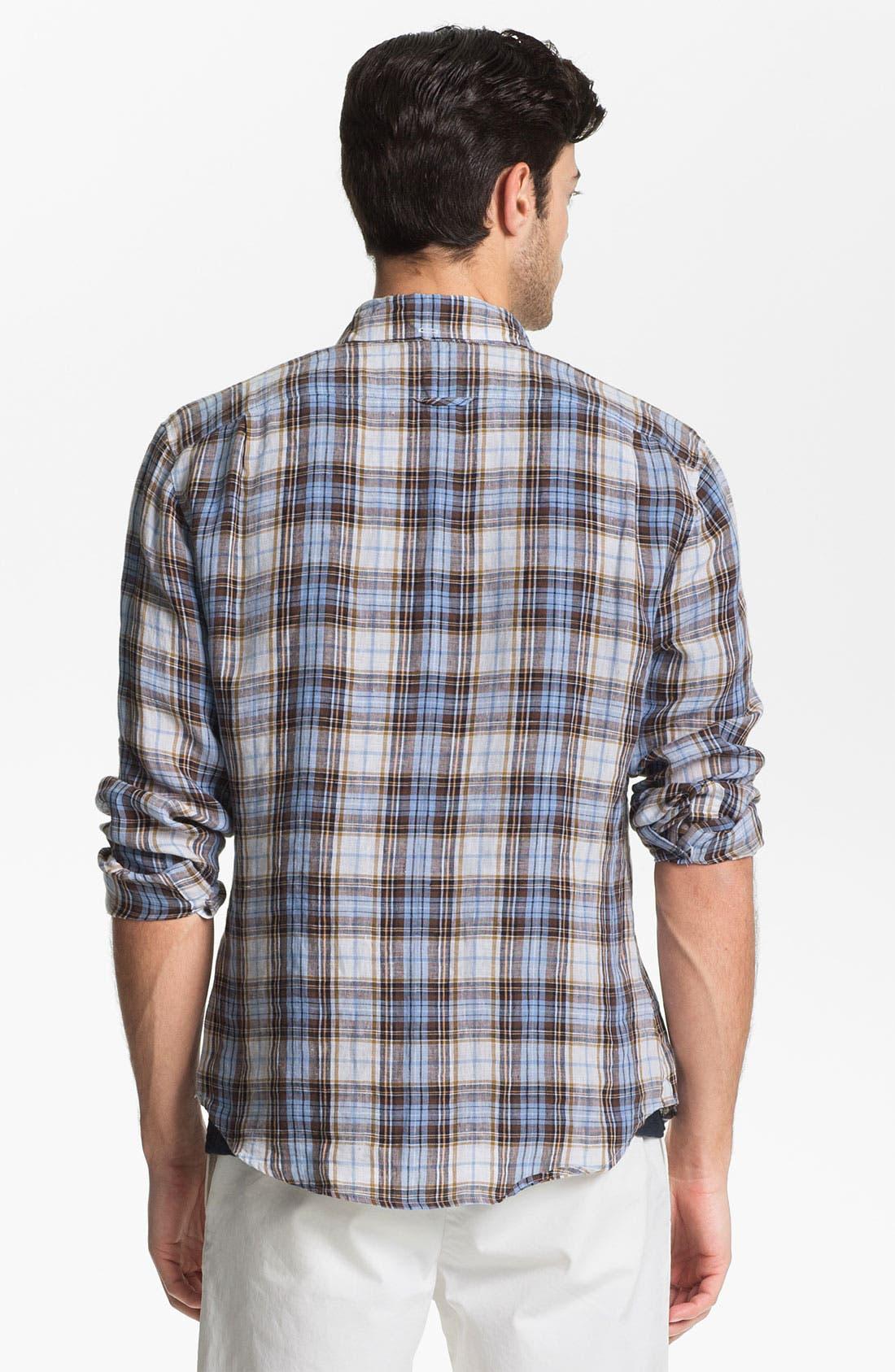 Alternate Image 2  - Vince Linen Sport Shirt