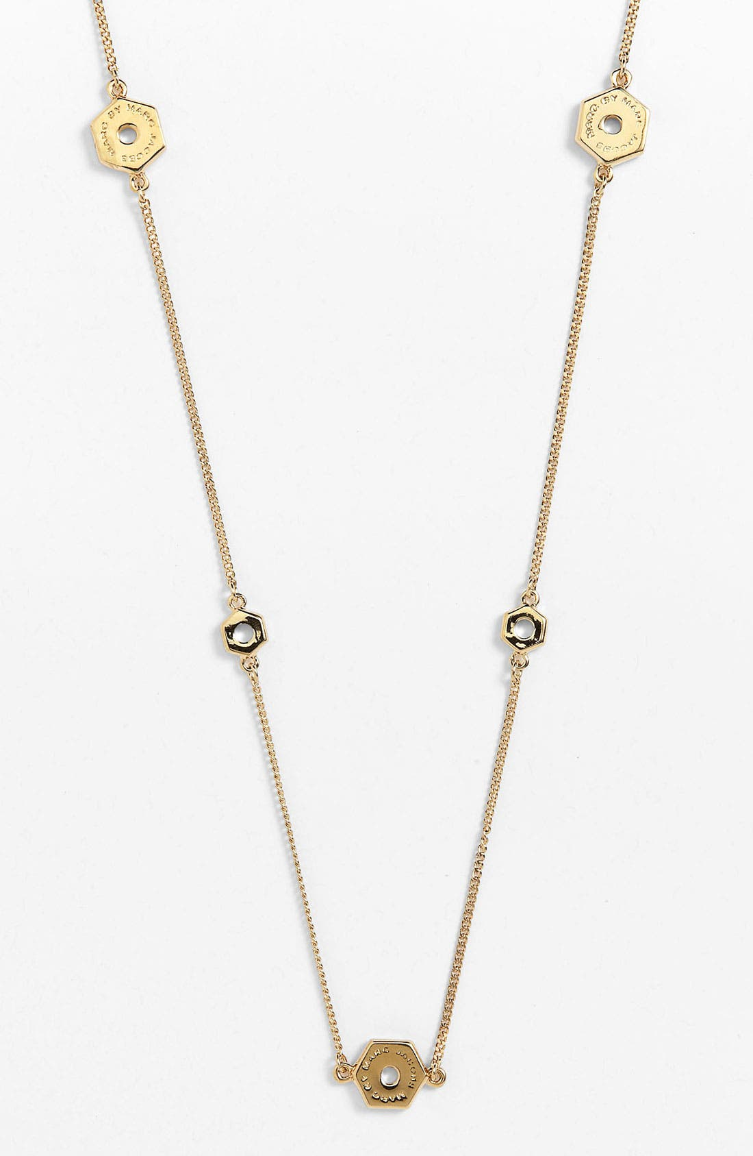 Alternate Image 2  - MARC BY MARC JACOBS 'Bolts' Long Station Necklace