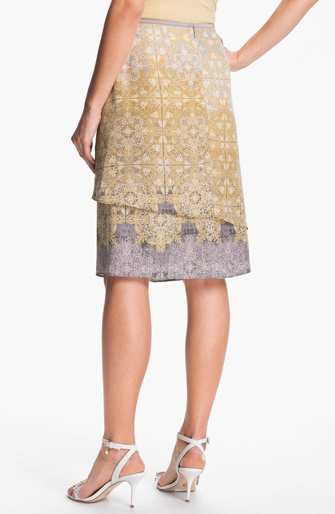 Alternate Image 2  - Nic + Zoe 'Filigree' Print Skirt