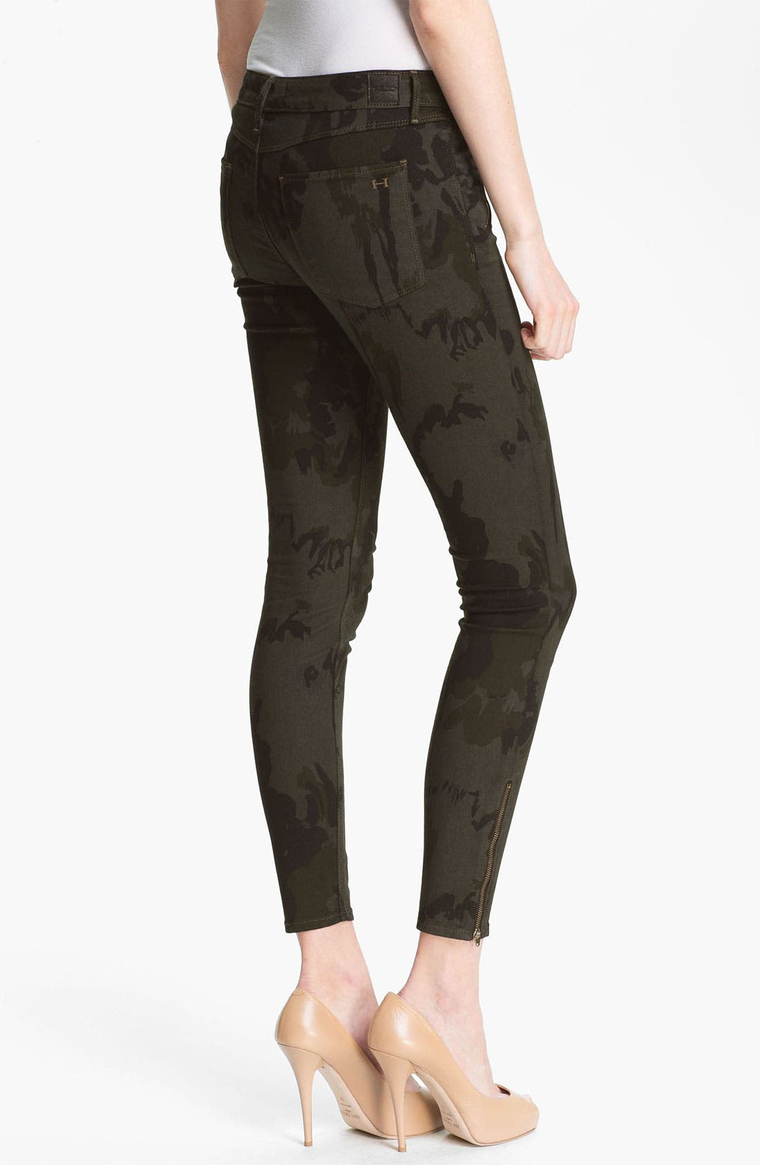 Alternate Image 2  - Habitual 'Amalia' Digital Camo Print Stretch Jeans