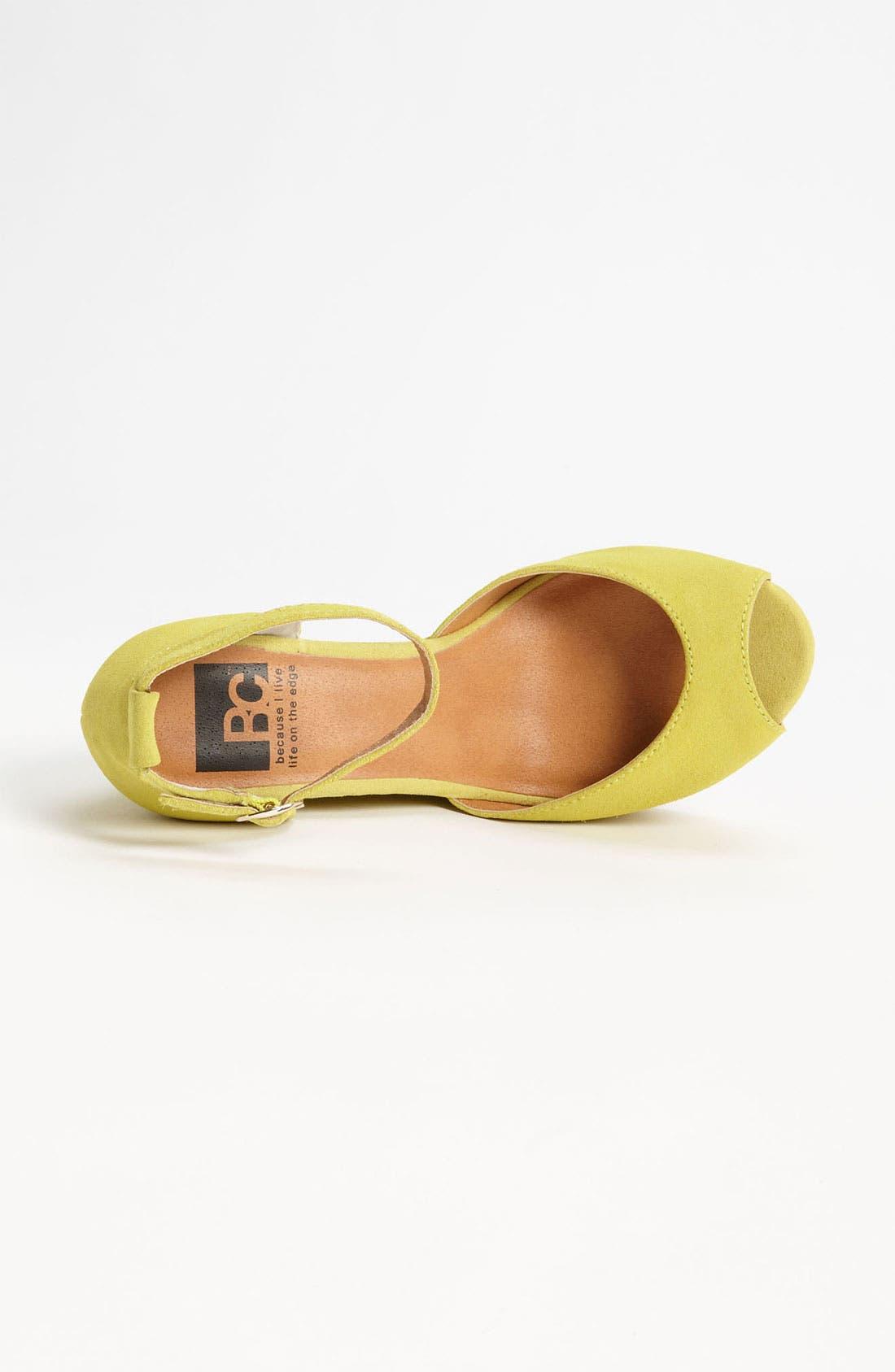 Alternate Image 3  - BC Footwear 'Bright Idea' Wedge Sandal