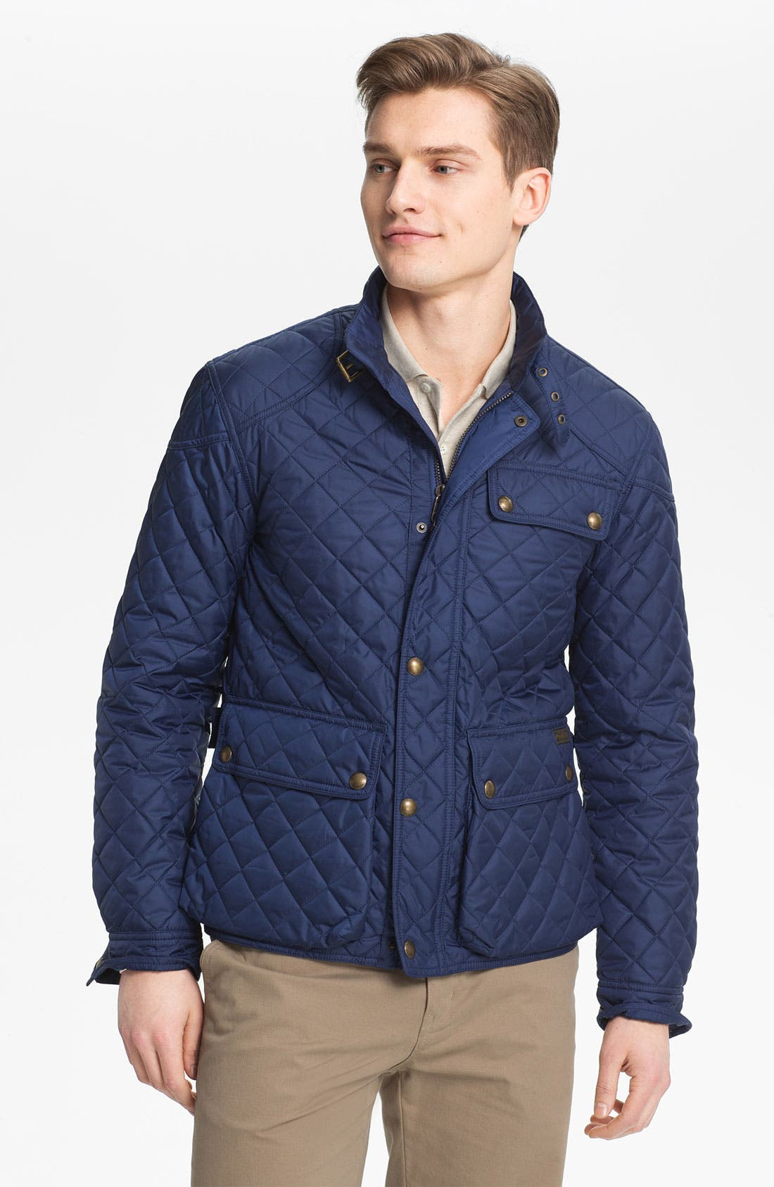 Alternate Image 1 Selected - Polo Ralph Lauren 'Cadwell' Quilted Bomber Jacket