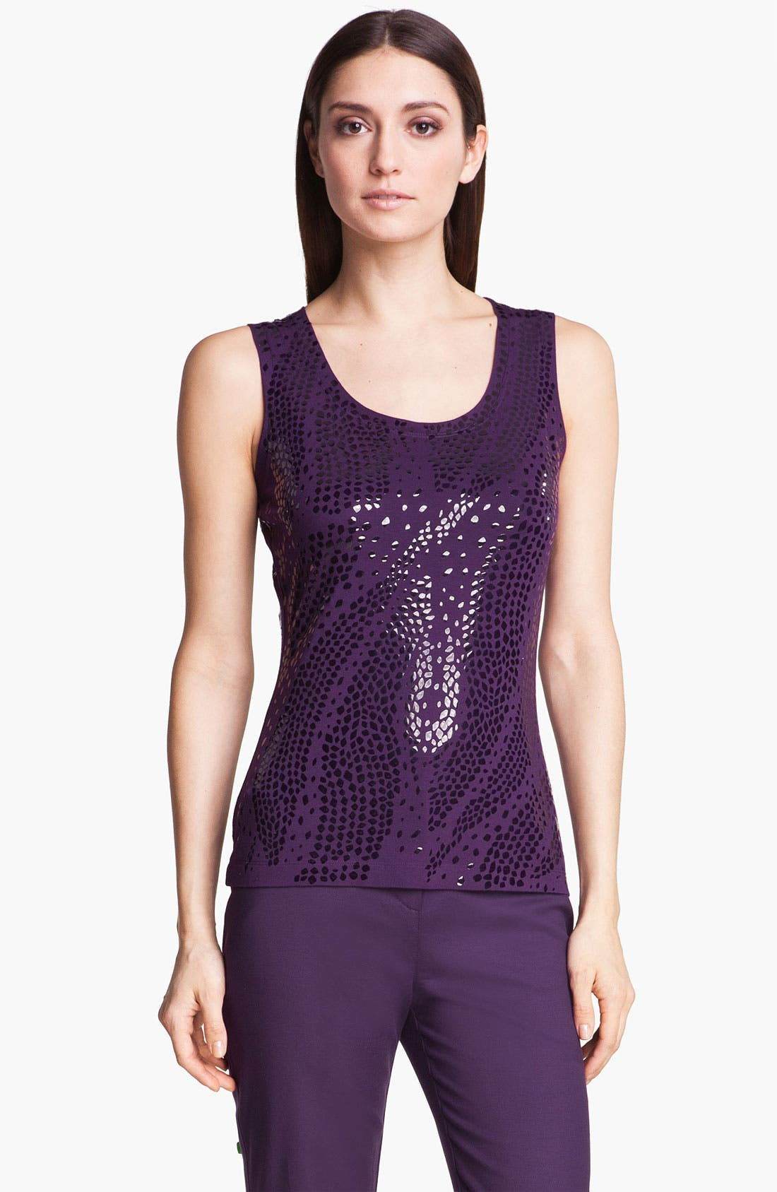 Alternate Image 1 Selected - St. John Collection Sequin Tank