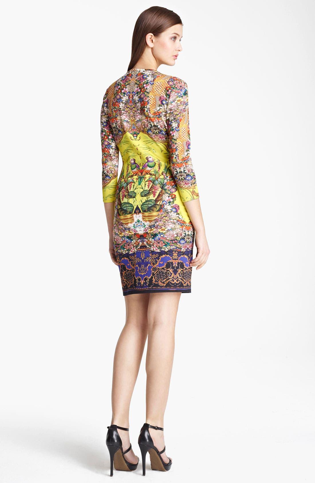 Alternate Image 2  - Roberto Cavalli Print Jersey Dress