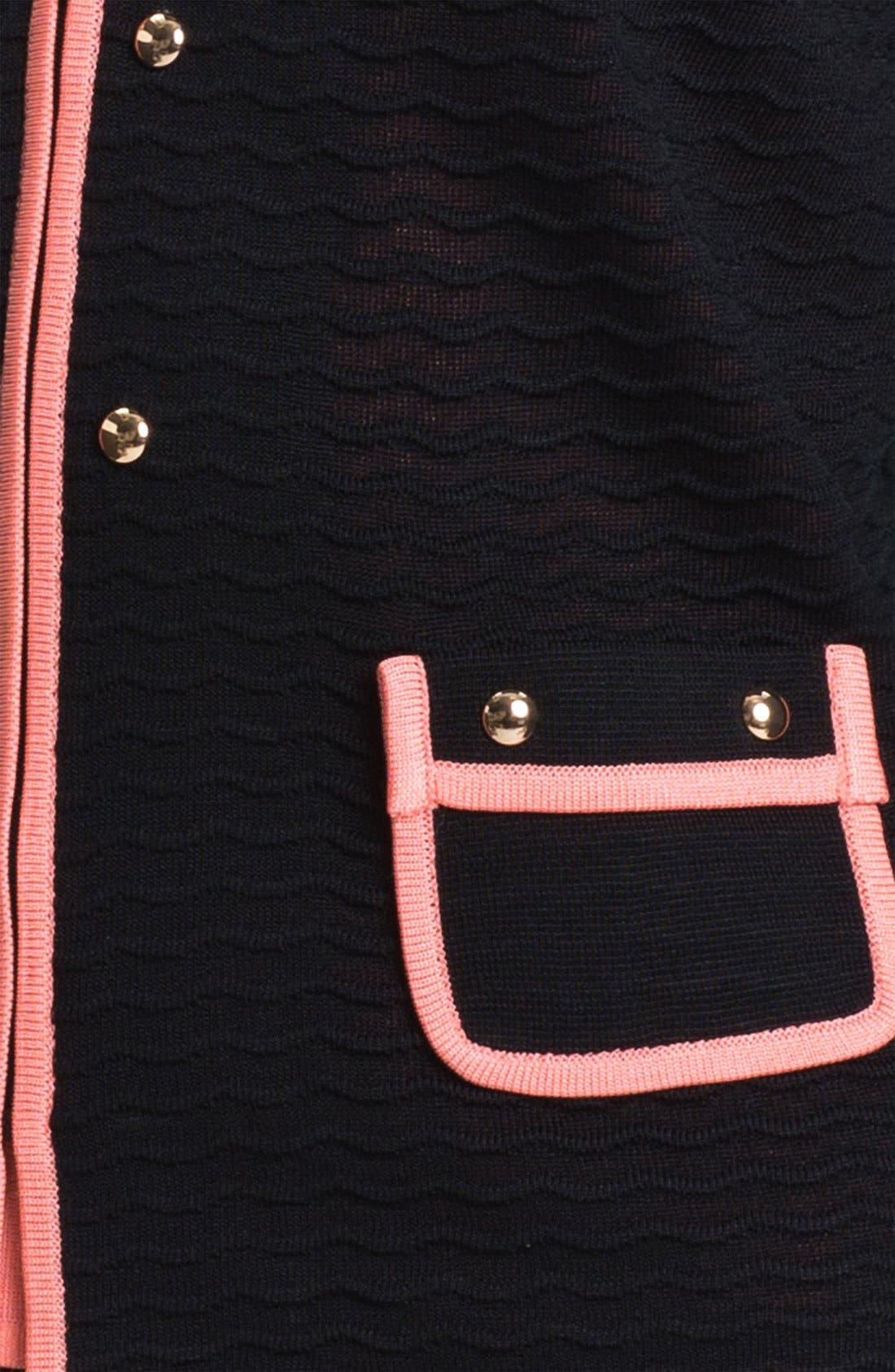 Alternate Image 3  - Ming Wang Zip Front Jacket