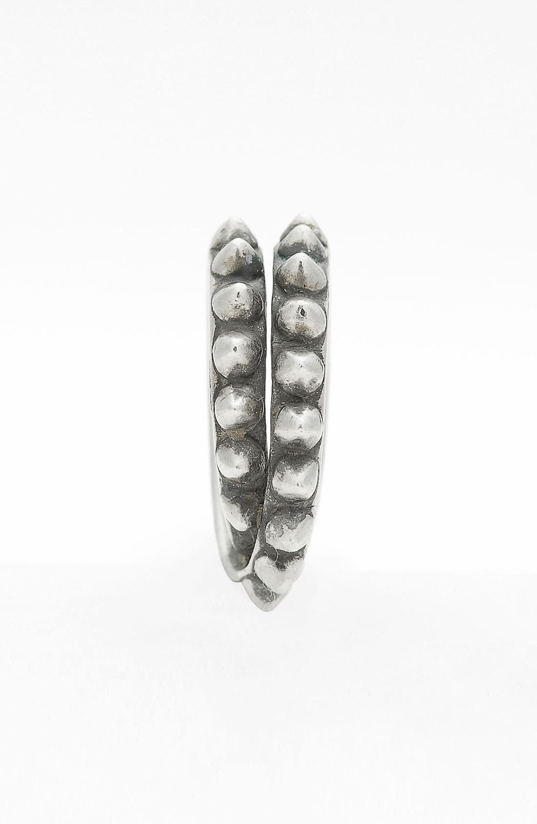 Alternate Image 2  - Tom Binns 'Punk Pavé' Double Wrap Ring