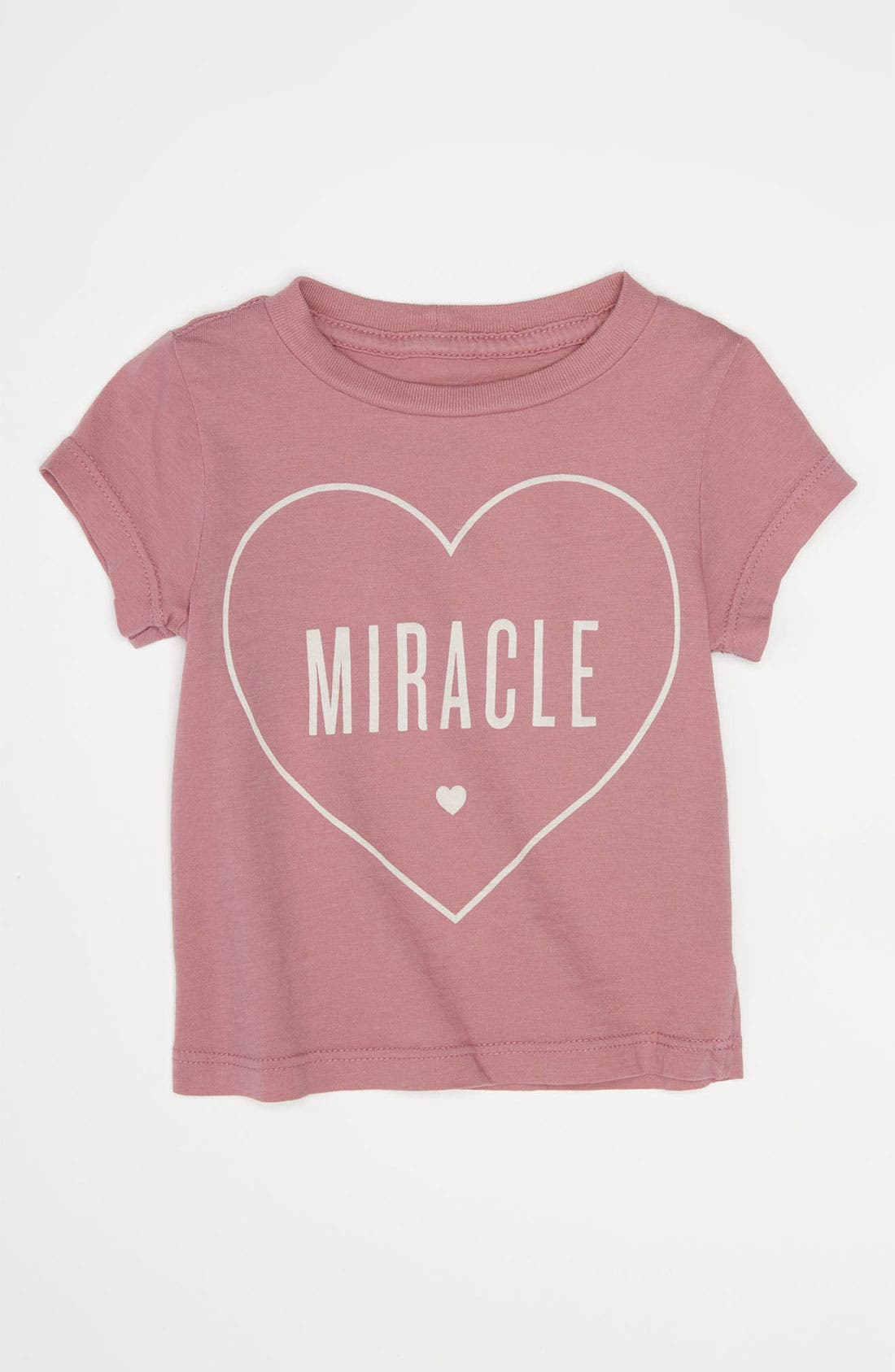 Alternate Image 1 Selected - Peek 'Little Peanut - Miracle' Tee (Baby)
