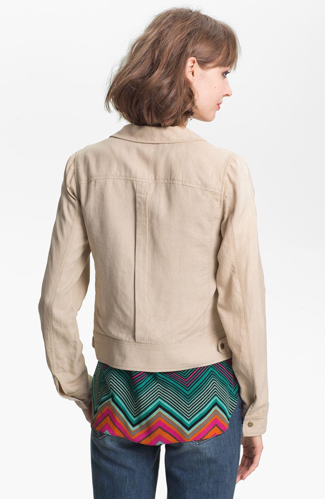 Alternate Image 2  - Ella Moss Crop Utility Jacket