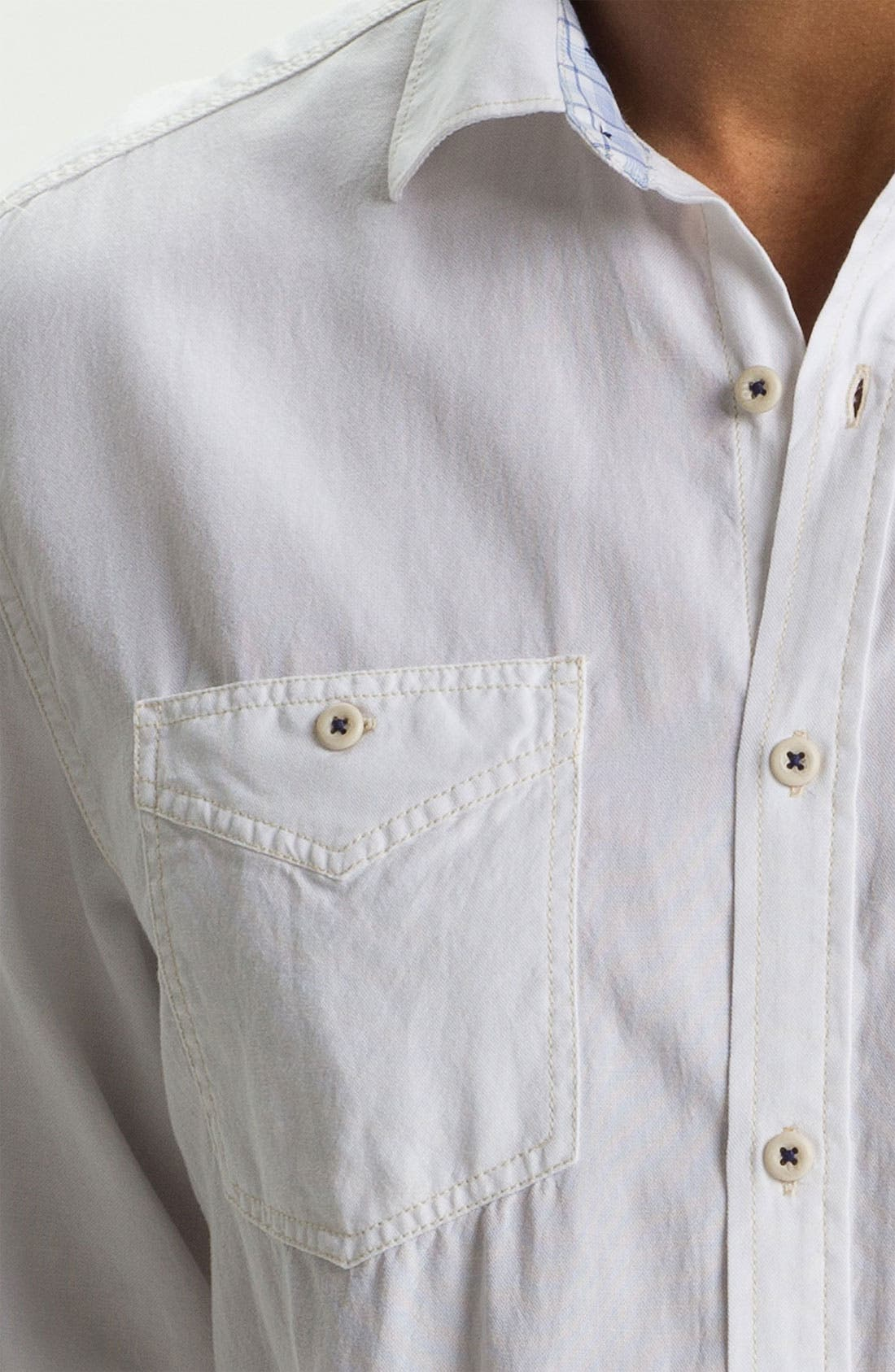 Alternate Image 3  - Tommy Bahama Denim 'Sand City' Island Modern Fit Sport Shirt