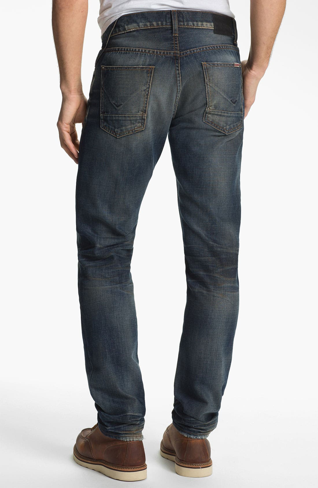 Alternate Image 1 Selected - Hudson Jeans 'Sartor' Skinny Fit Jeans (Dhara)