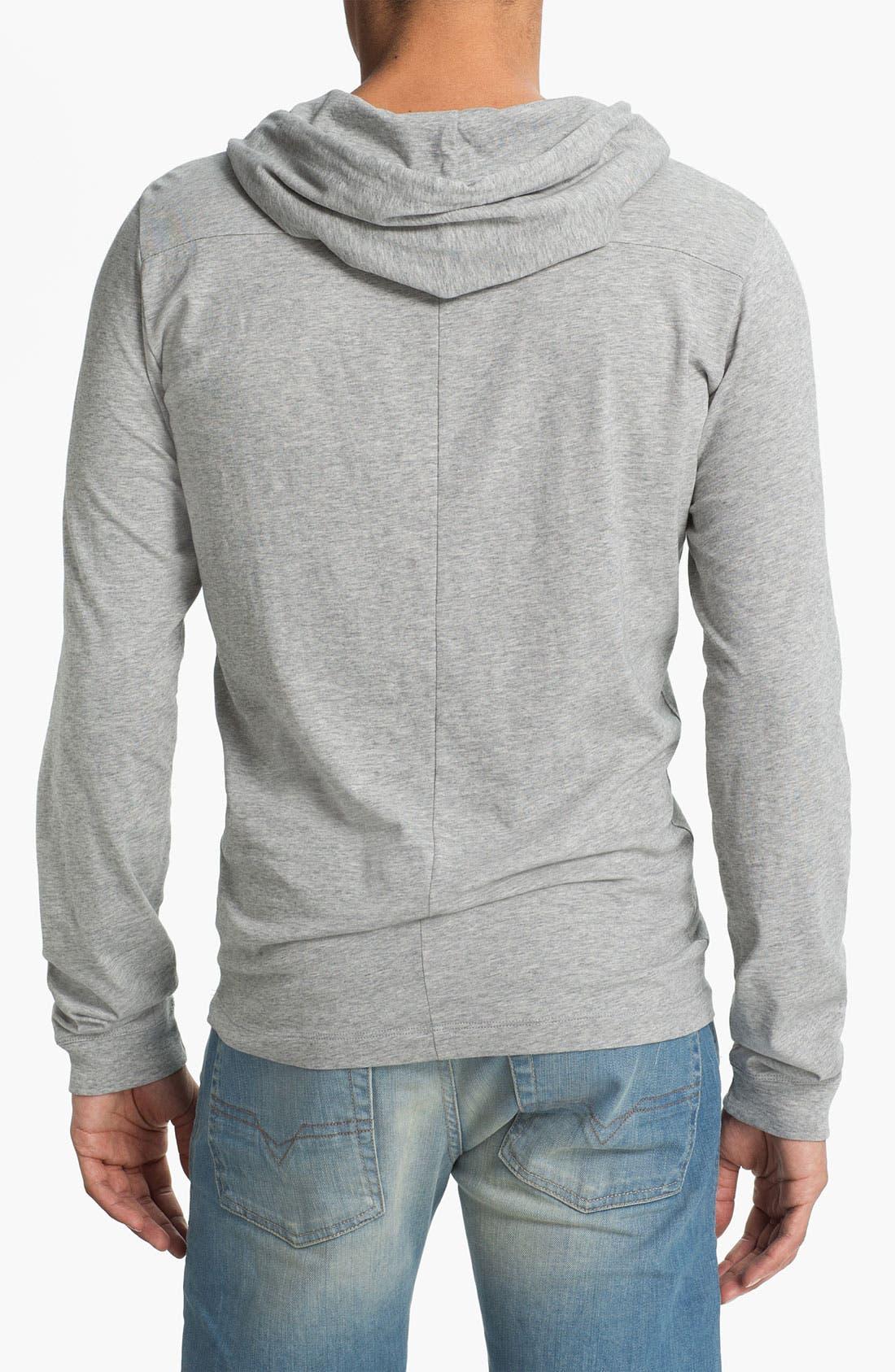Alternate Image 2  - DIESEL® 'T-Someone' Hooded Long Sleeve T-Shirt