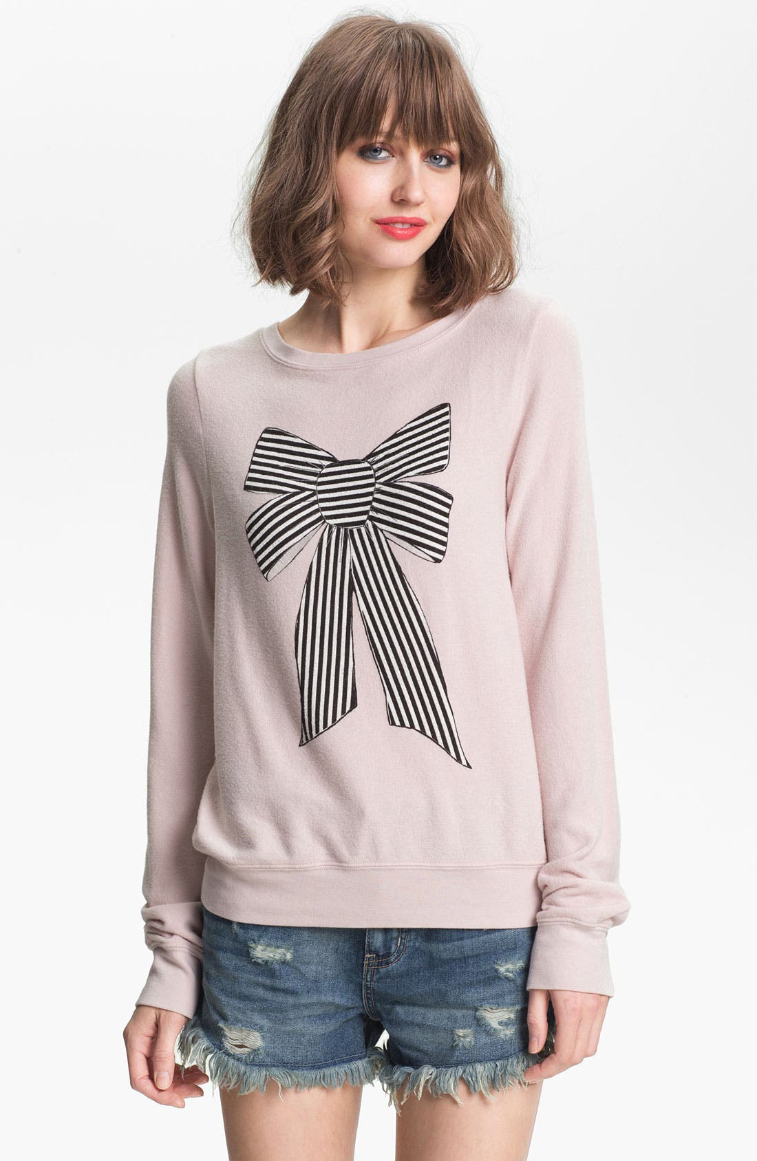 Main Image - Wildfox 'Coco' Graphic Sweatshirt (Nordstrom Exclusive)
