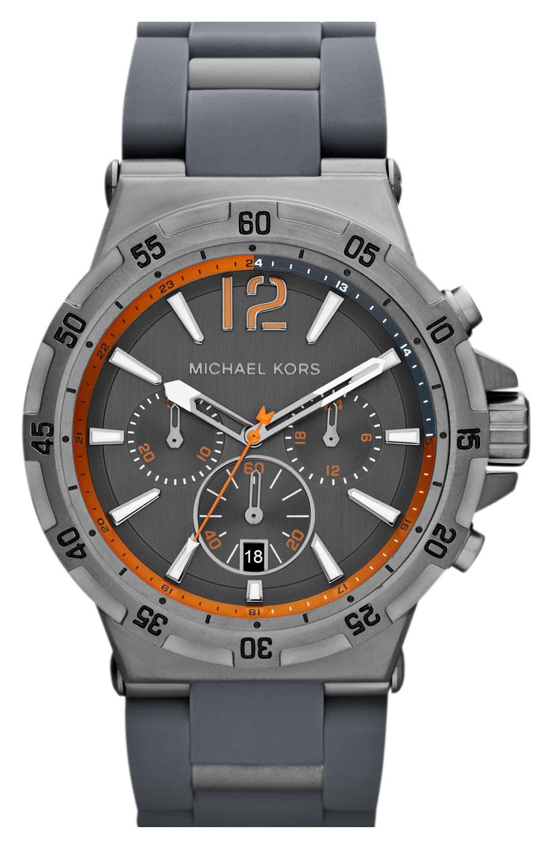Main Image - Michael Kors 'Melbourne' Chronograph Bracelet Watch