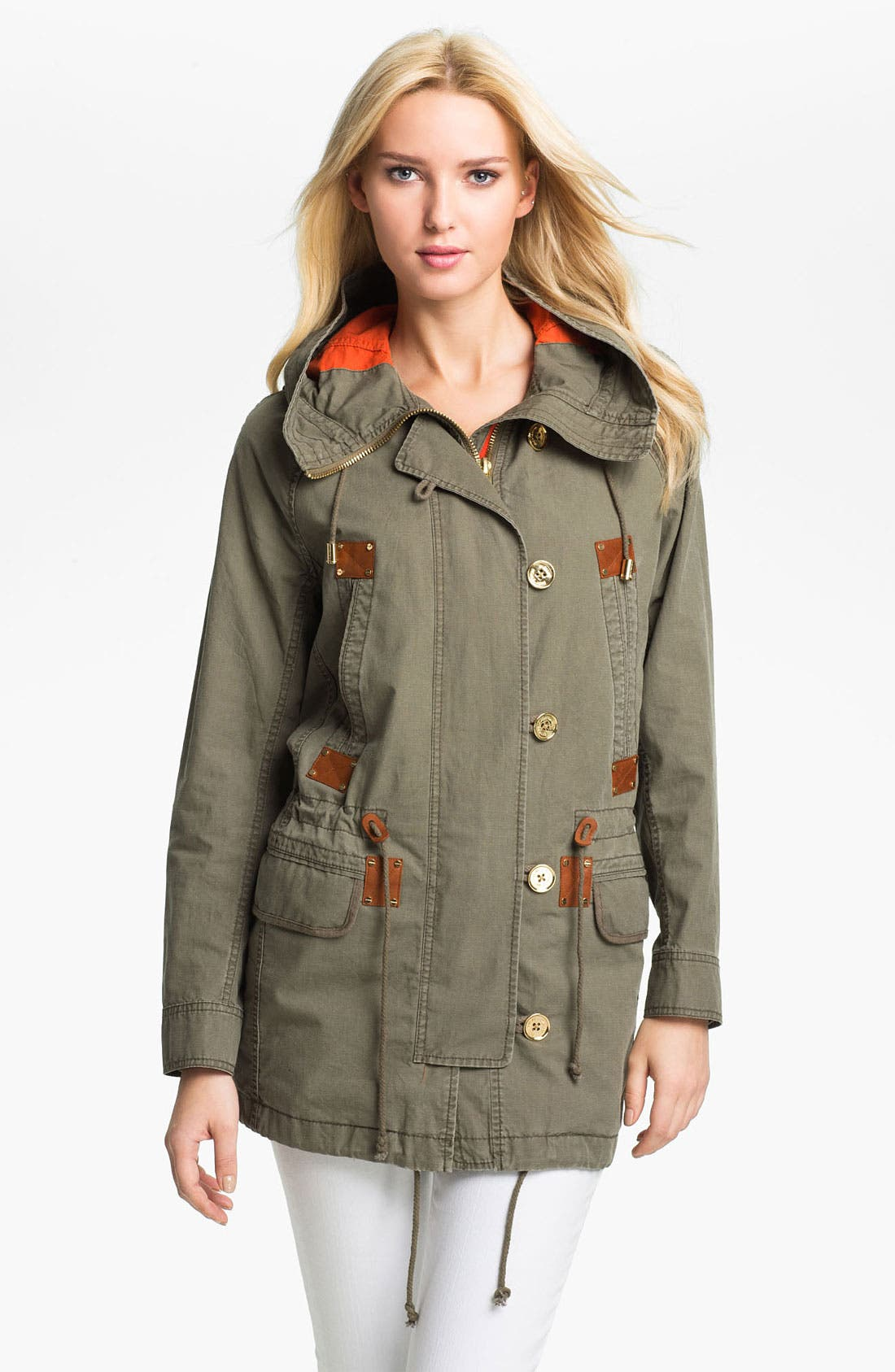 Alternate Image 1 Selected - MICHAEL Michael Kors Anorak