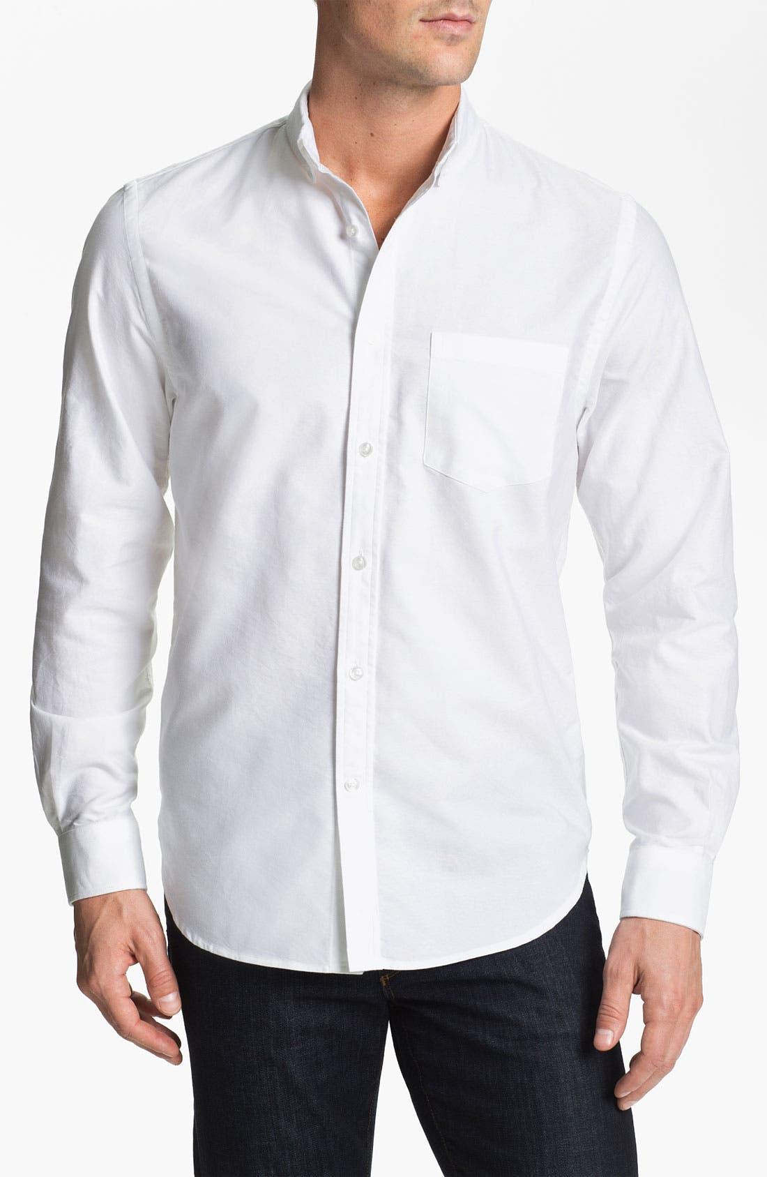 Alternate Image 1 Selected - Bonobos Standard Fit Oxford Sport Shirt