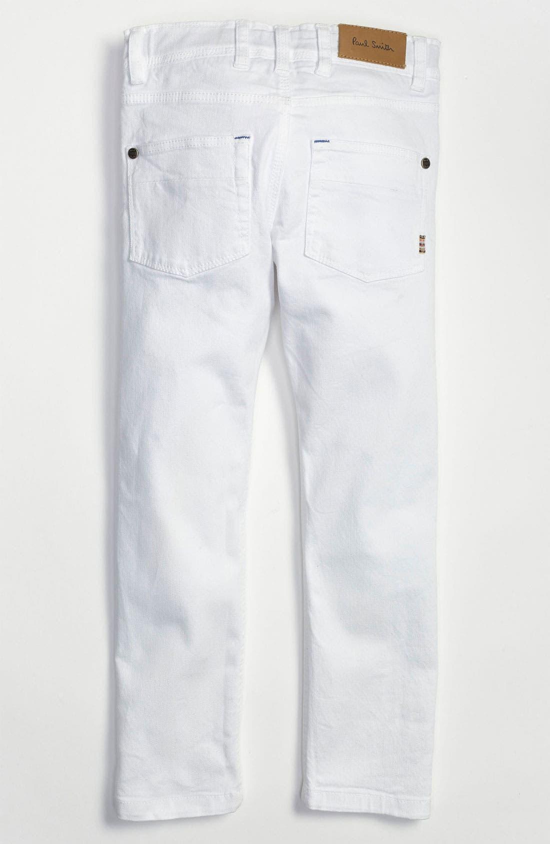 Alternate Image 1 Selected - Paul Smith Junior 'Doug' Slim Fit Pants (Little Boys & Big Boys)
