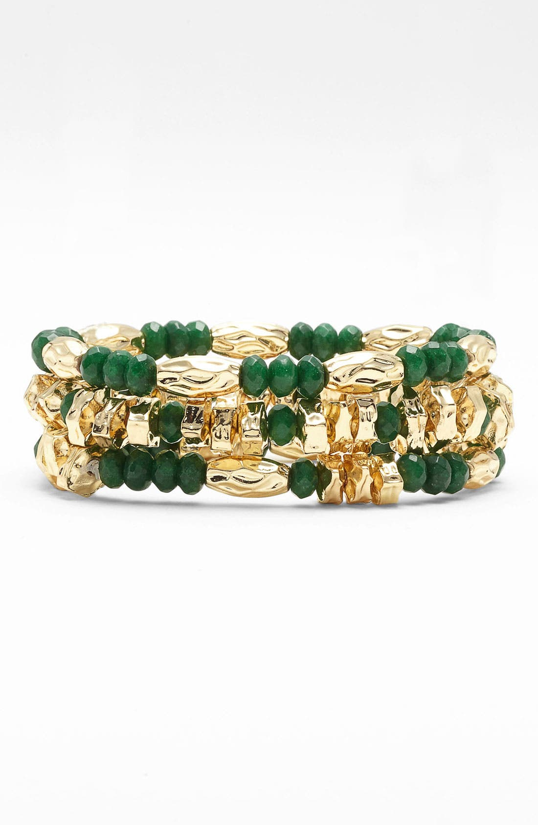 Main Image - Nordstrom Bead Stretch Bracelets (Set of 3)
