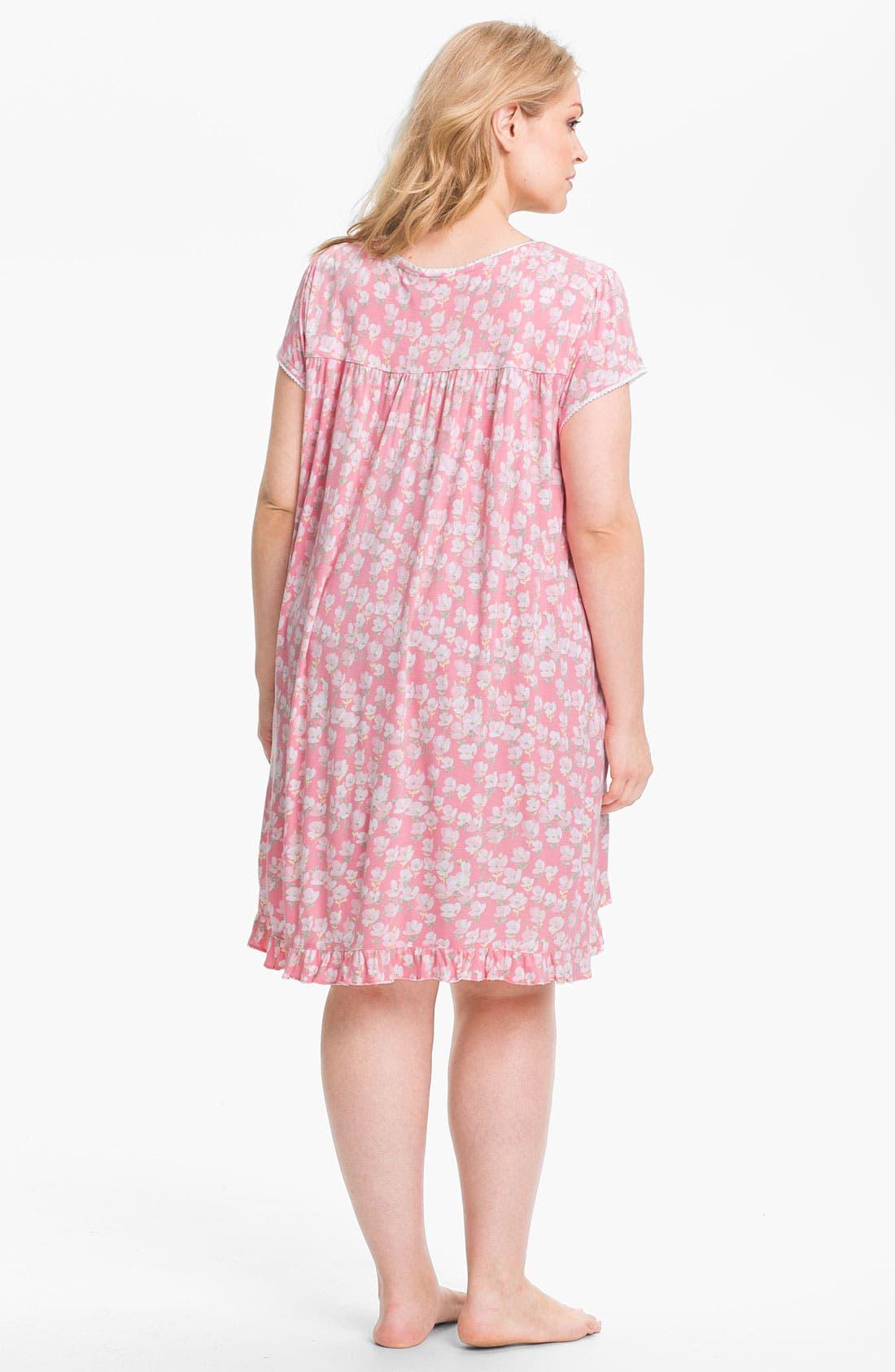 Alternate Image 2  - Eileen West 'Radiant Spirit' Short Nightgown (Plus)