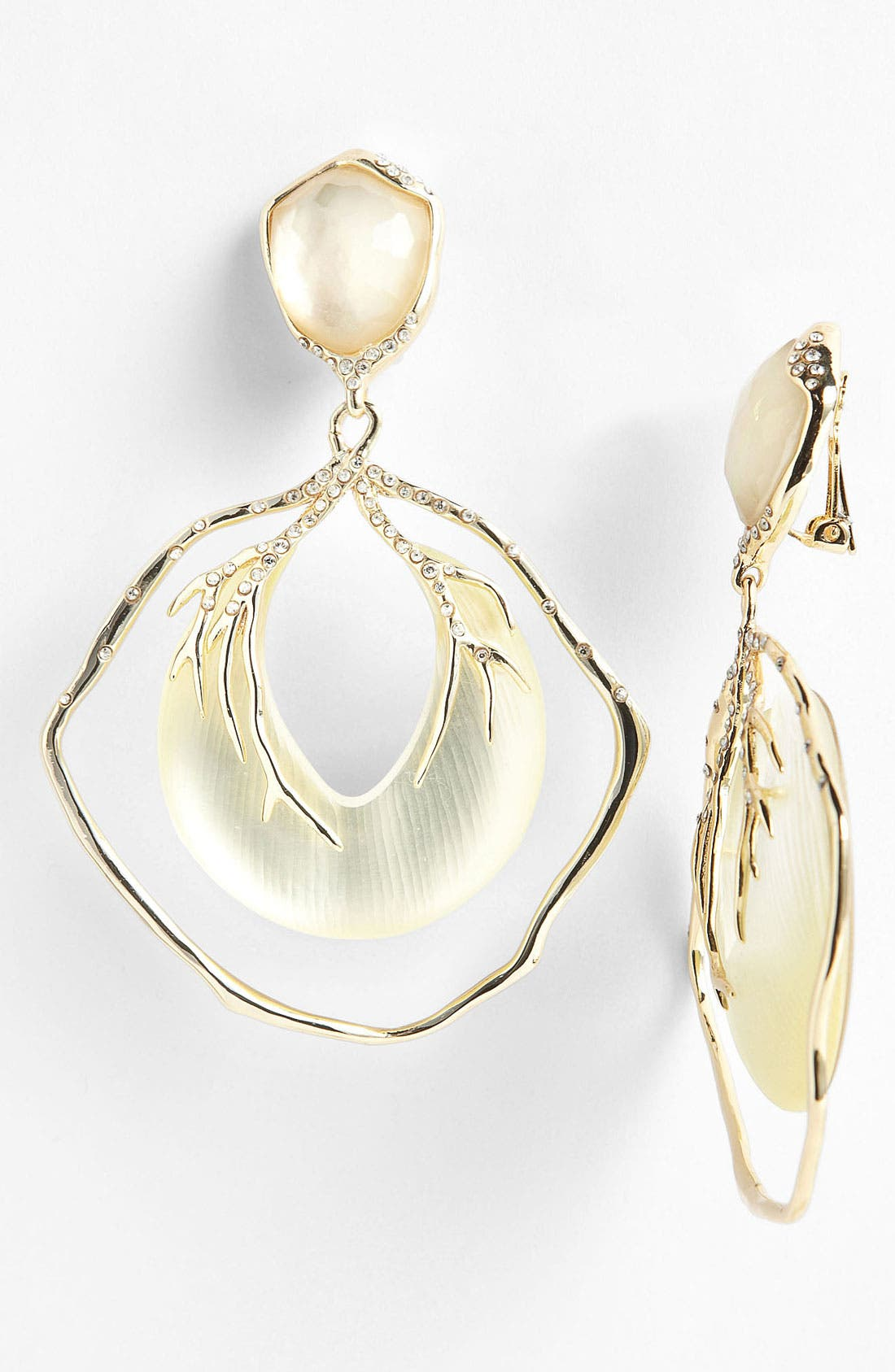 Alternate Image 1 Selected - Alexis Bittar 'Lucite® - Ophelia' Large Vine Clip Drop Earrings