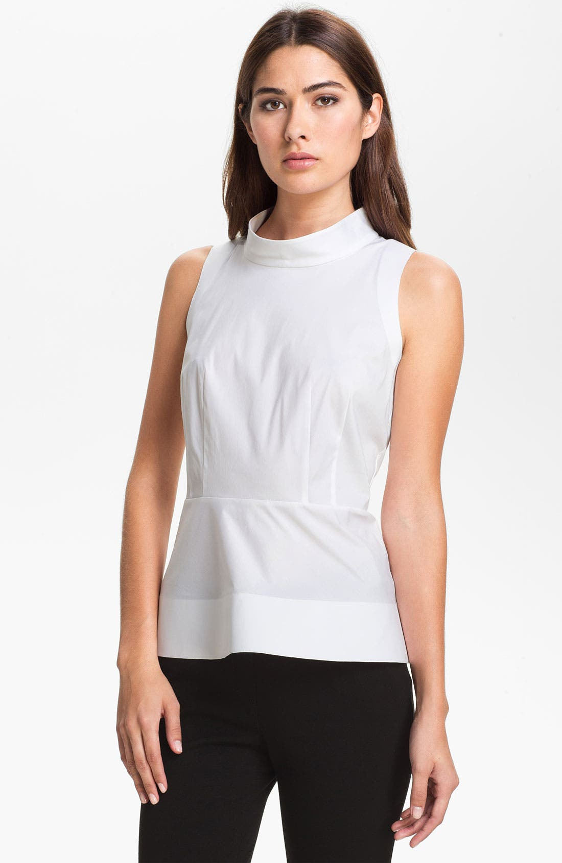 Main Image - Lafayette 148 New York 'Garbo' Blouse (Online Only)