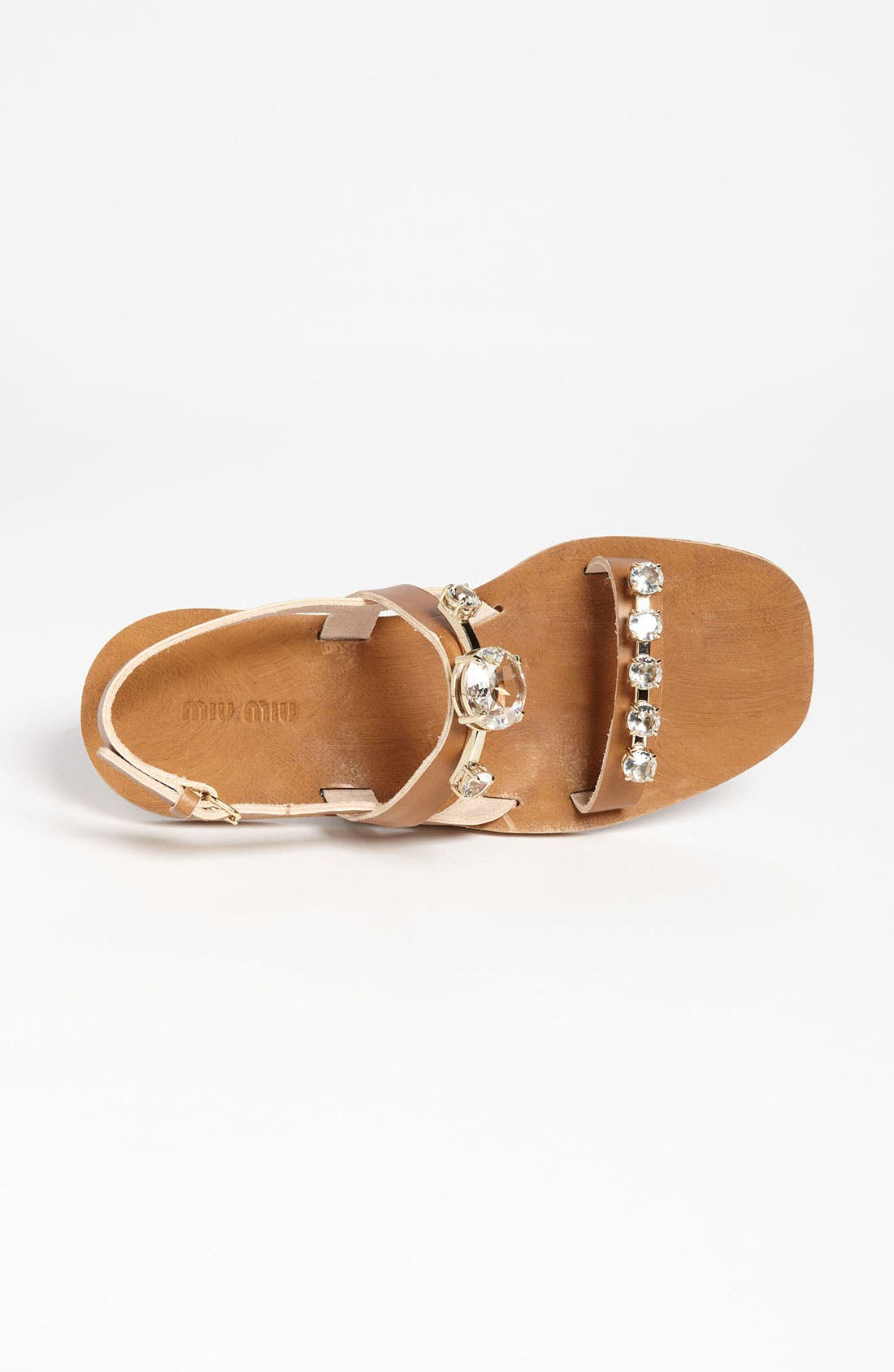 Alternate Image 3  - Miu Miu Jeweled Sandal