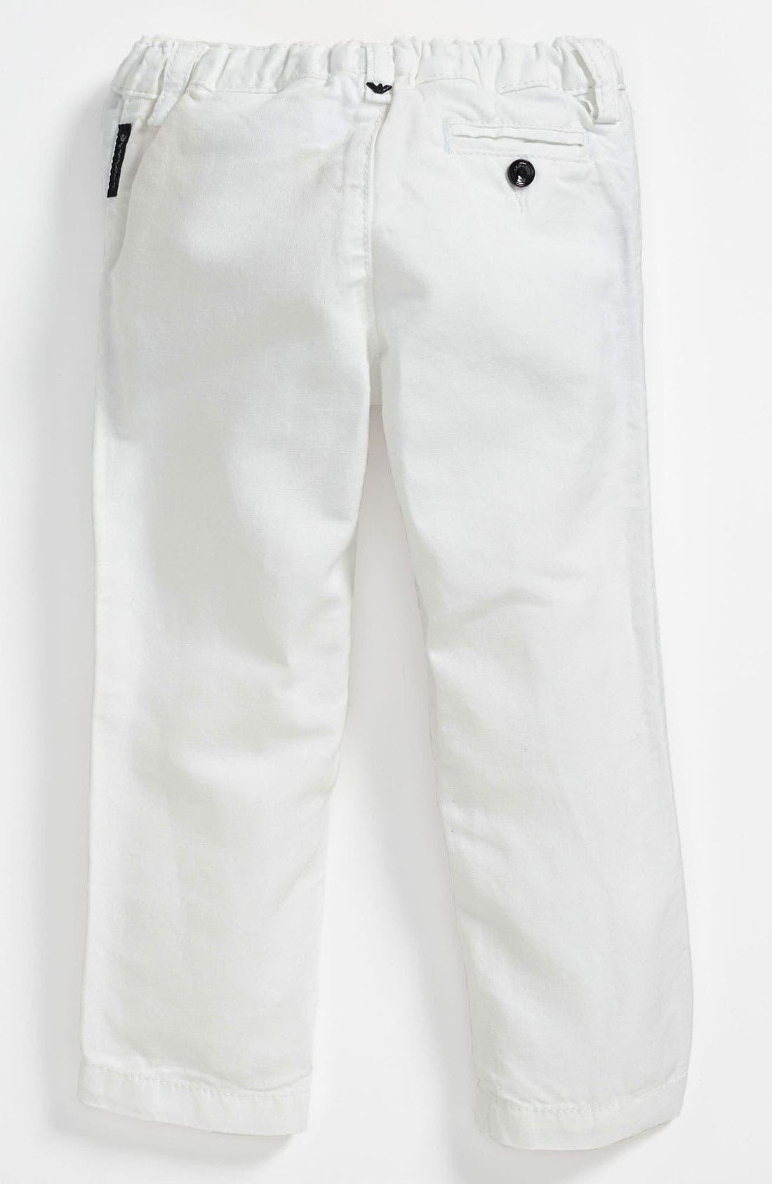 Alternate Image 2  - Armani Junior Pants (Toddler & Little Boys)
