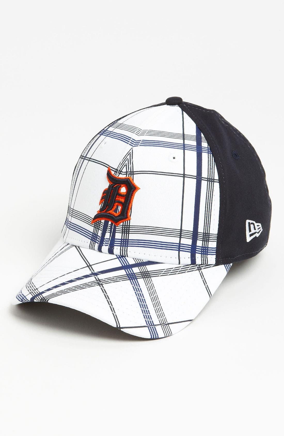 Main Image - New Era Cap 'Detroit Tigers - Plaidtastic' Fitted Baseball Cap