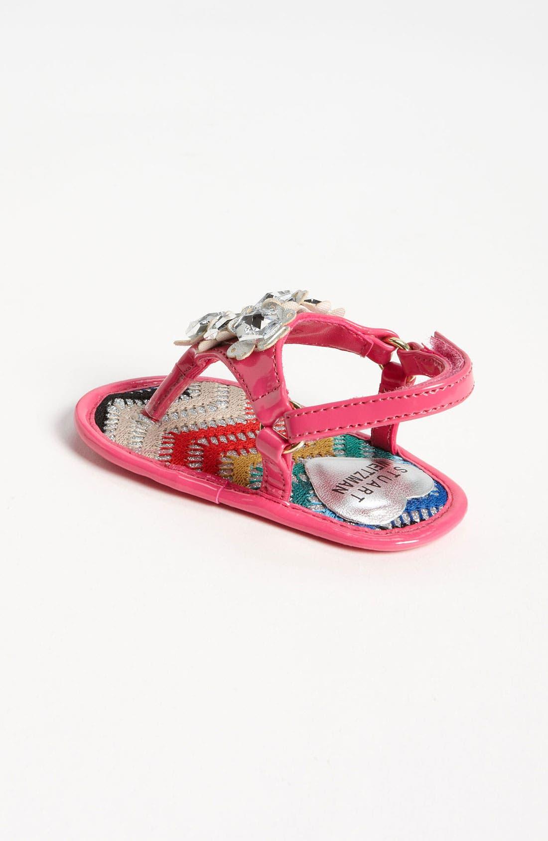 Alternate Image 2  - Stuart Weitzman 'Baby Peridot' Sandal (Baby)