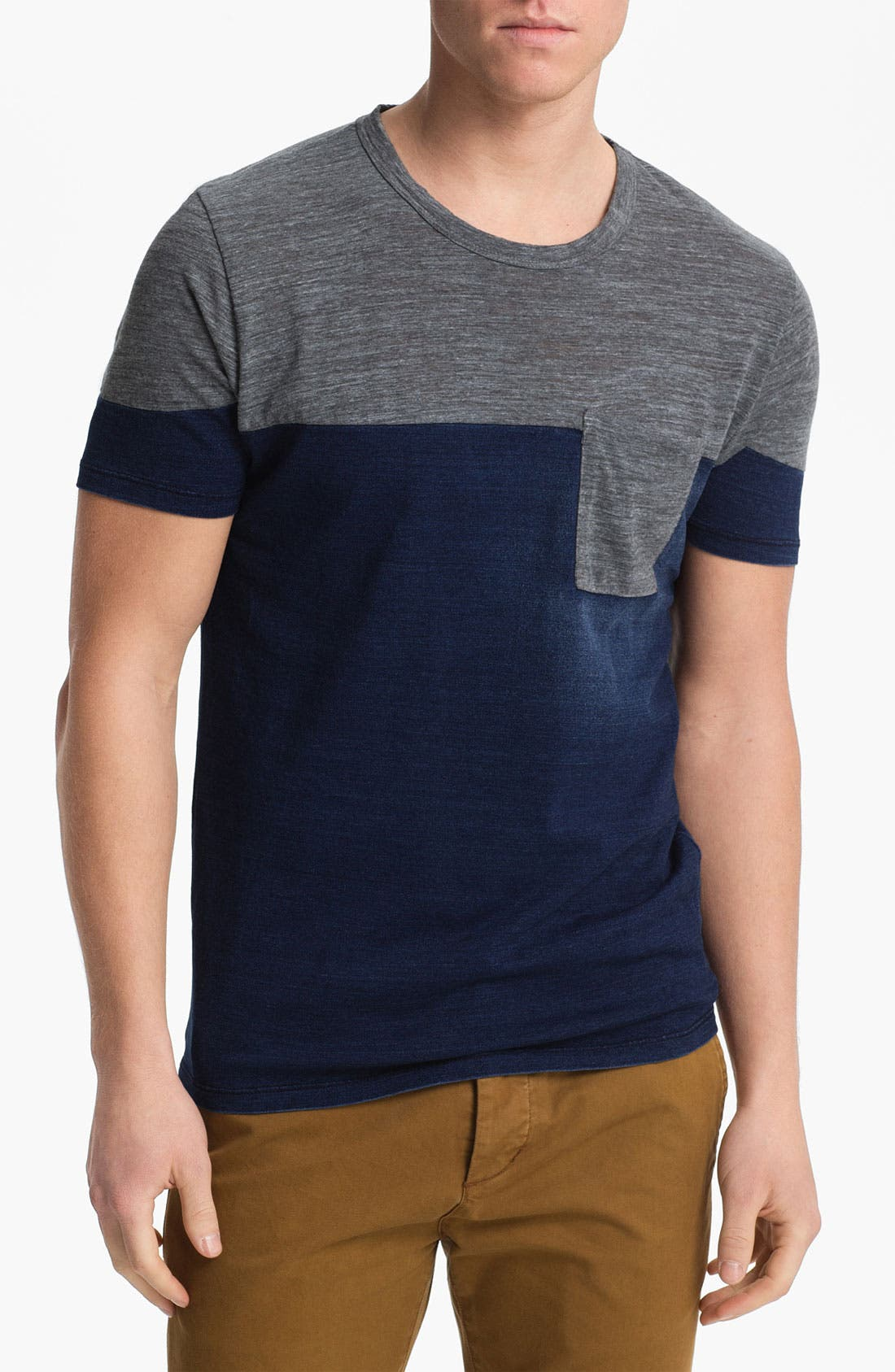 Alternate Image 1 Selected - AG Jeans Colorblock T-Shirt