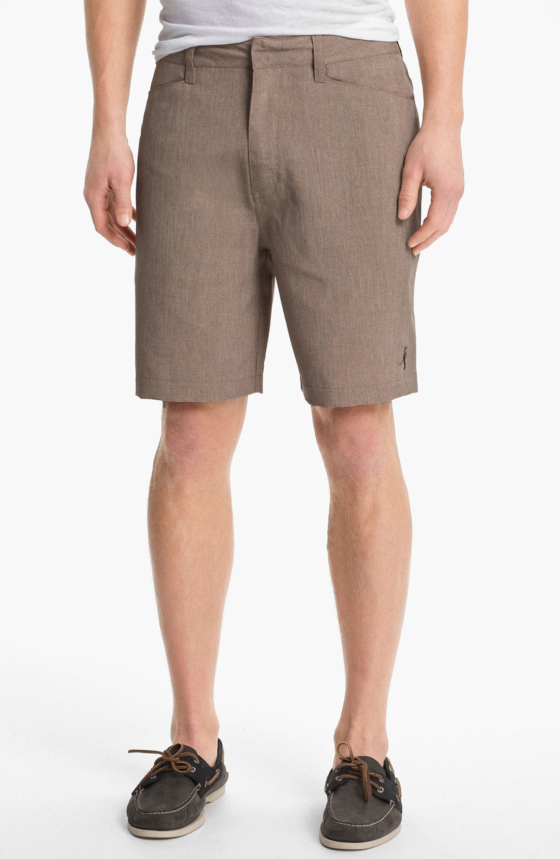 Main Image - Toes on the Nose 'Rocker' Khaki Shorts