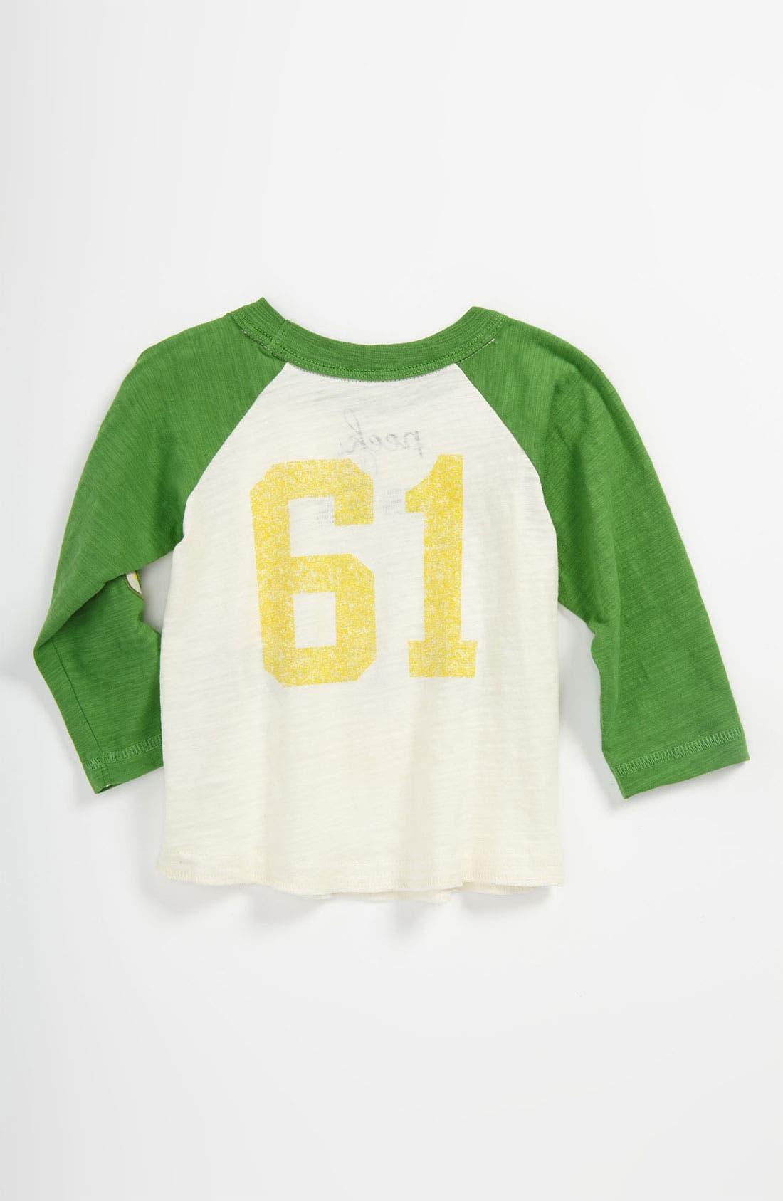 Alternate Image 2  - Peek 'Club Cienfuegos' Baseball Jersey T-Shirt (Baby)