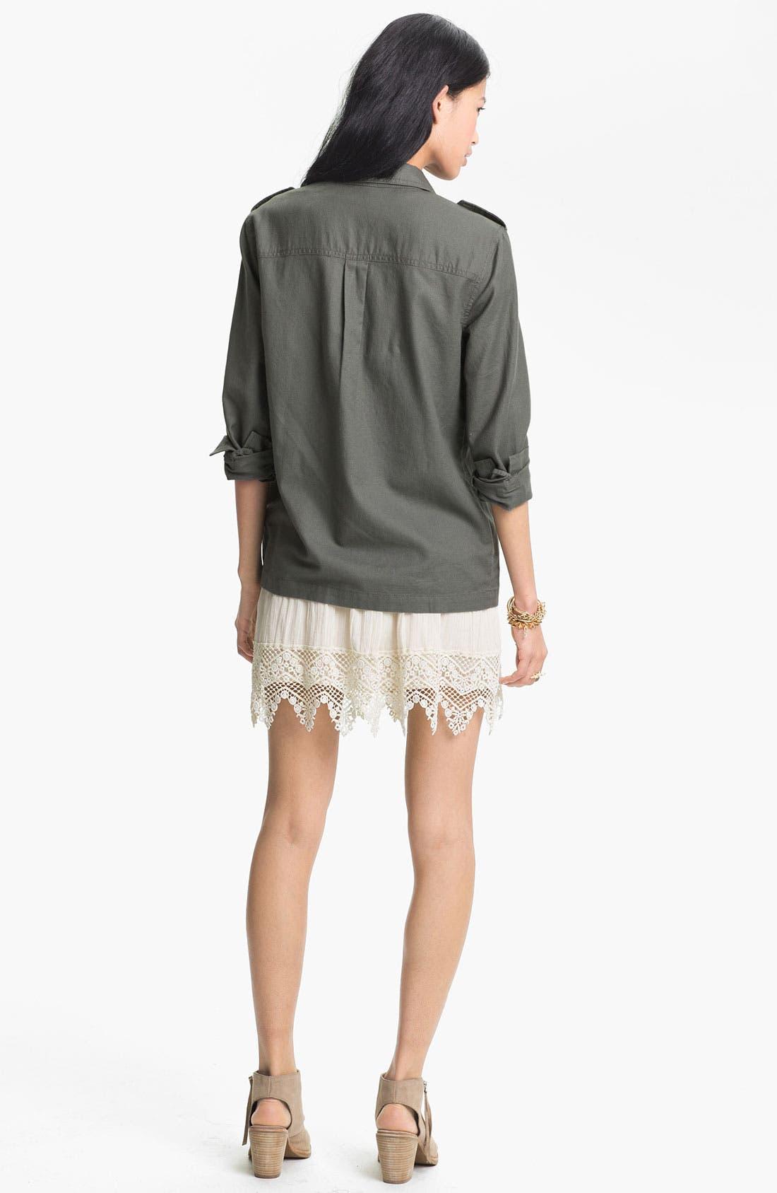 Alternate Image 2  - Rubbish® Jacket & Frenchi® Skirt