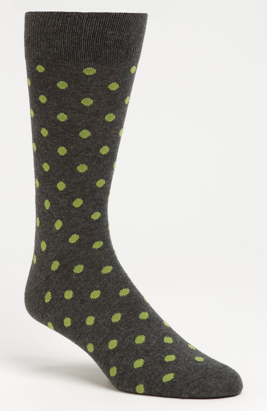 Alternate Image 1 Selected - Lorenzo Uomo Dot Socks