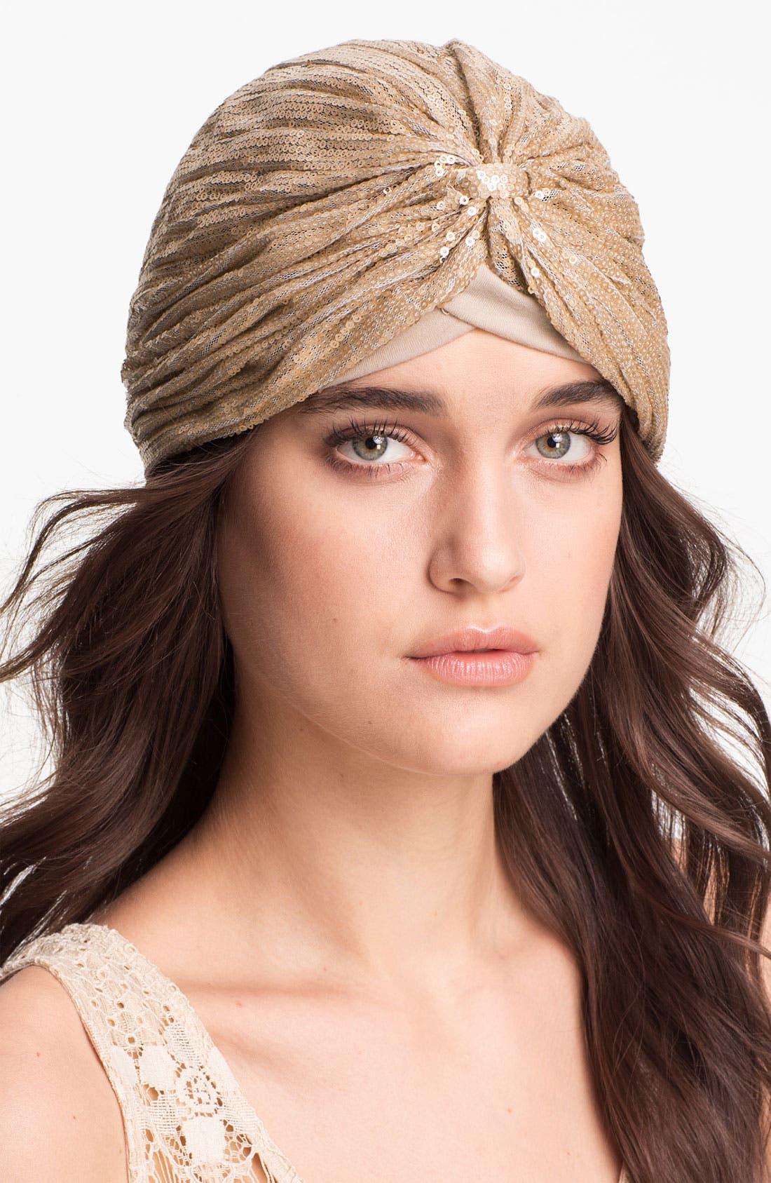 Alternate Image 1 Selected - BCBGeneration Sequined Turban