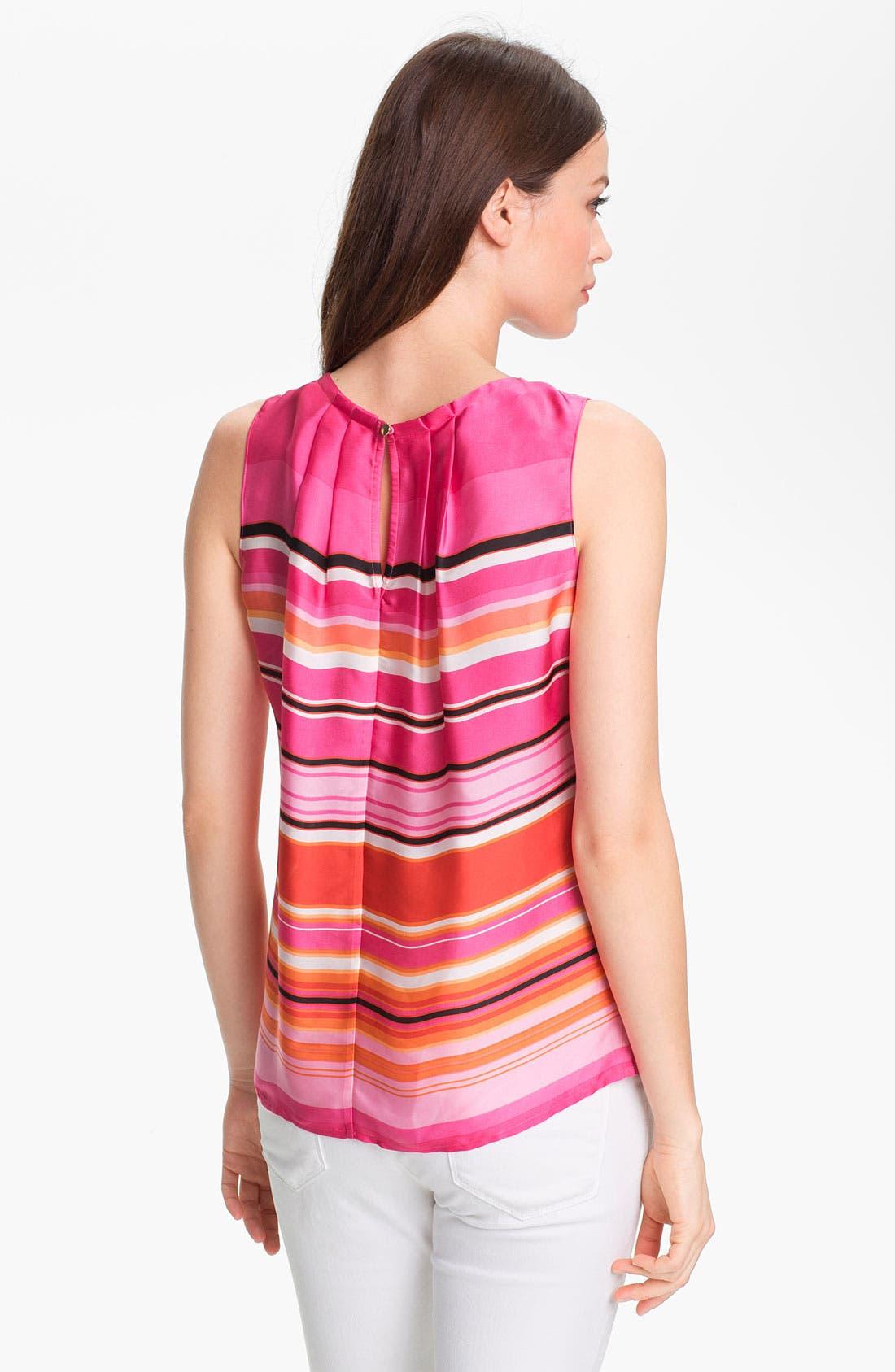 Alternate Image 2  - Chaus Umbrella Stripe Blouse