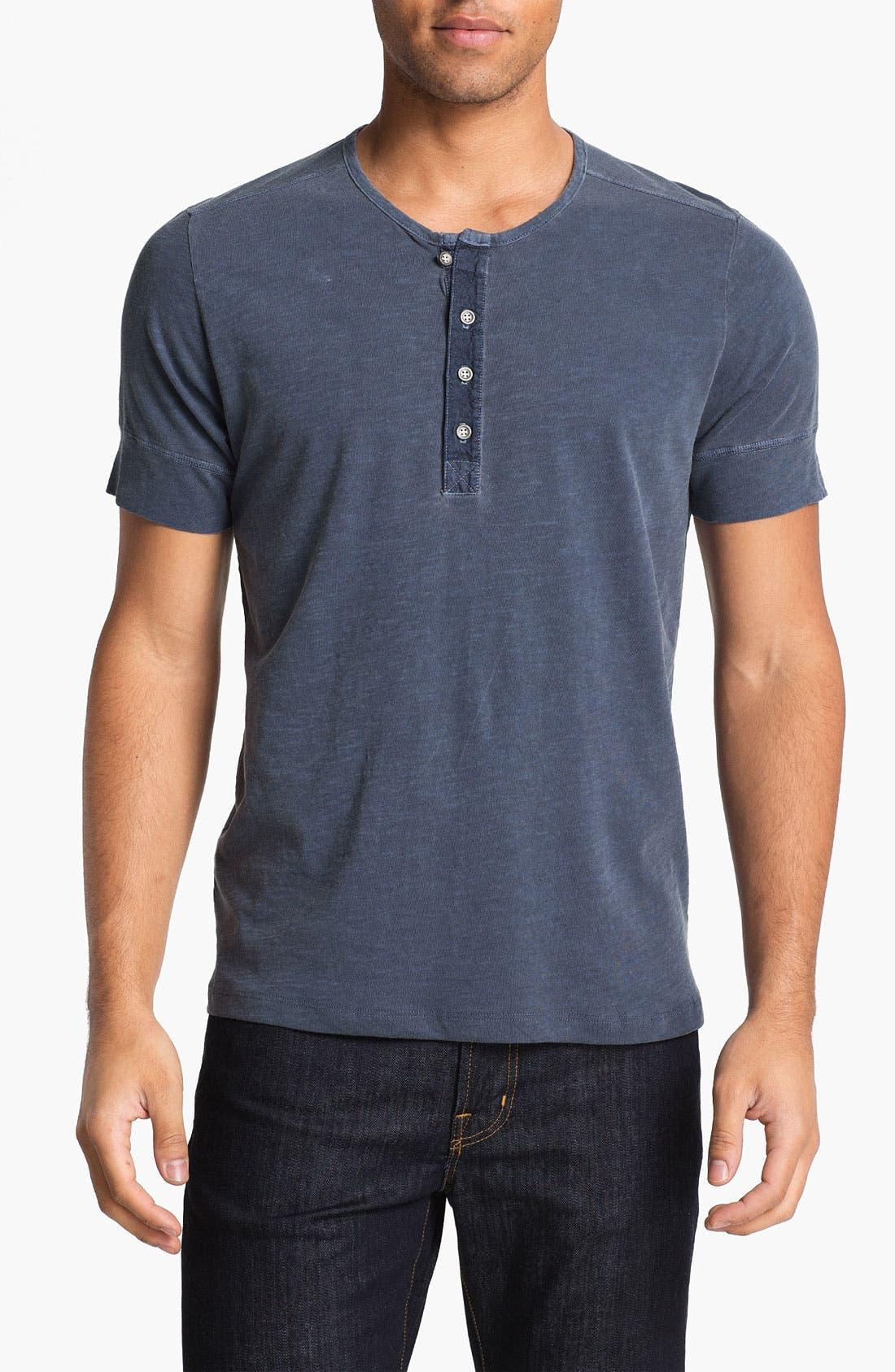 Alternate Image 1 Selected - AG Jeans Short Sleeve Henley T-Shirt