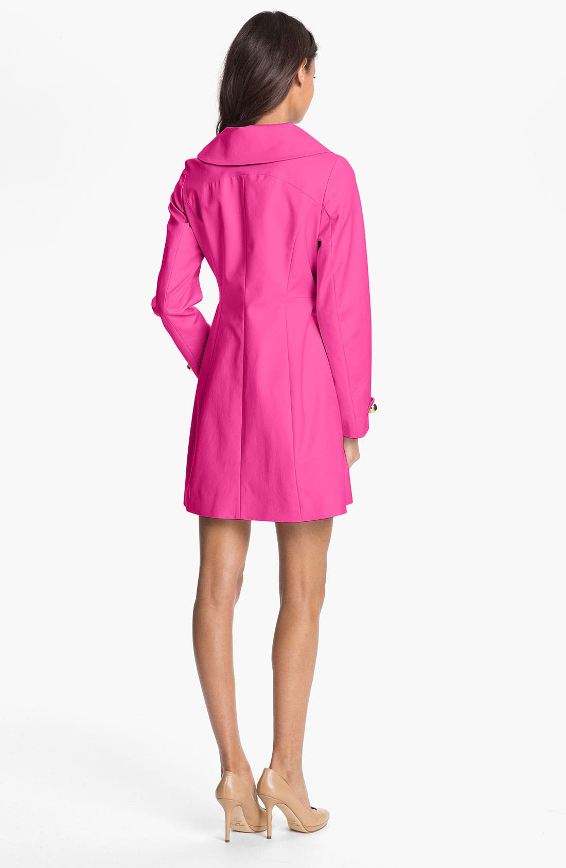 Alternate Image 2  - Trina Turk Double Breasted Coat