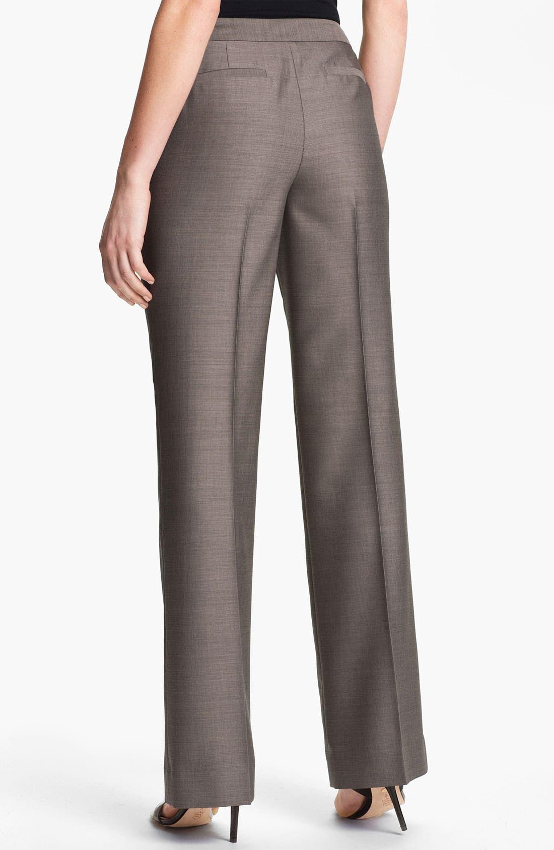 Alternate Image 2  - Classiques Entier 'Tiverton' Suiting Pants