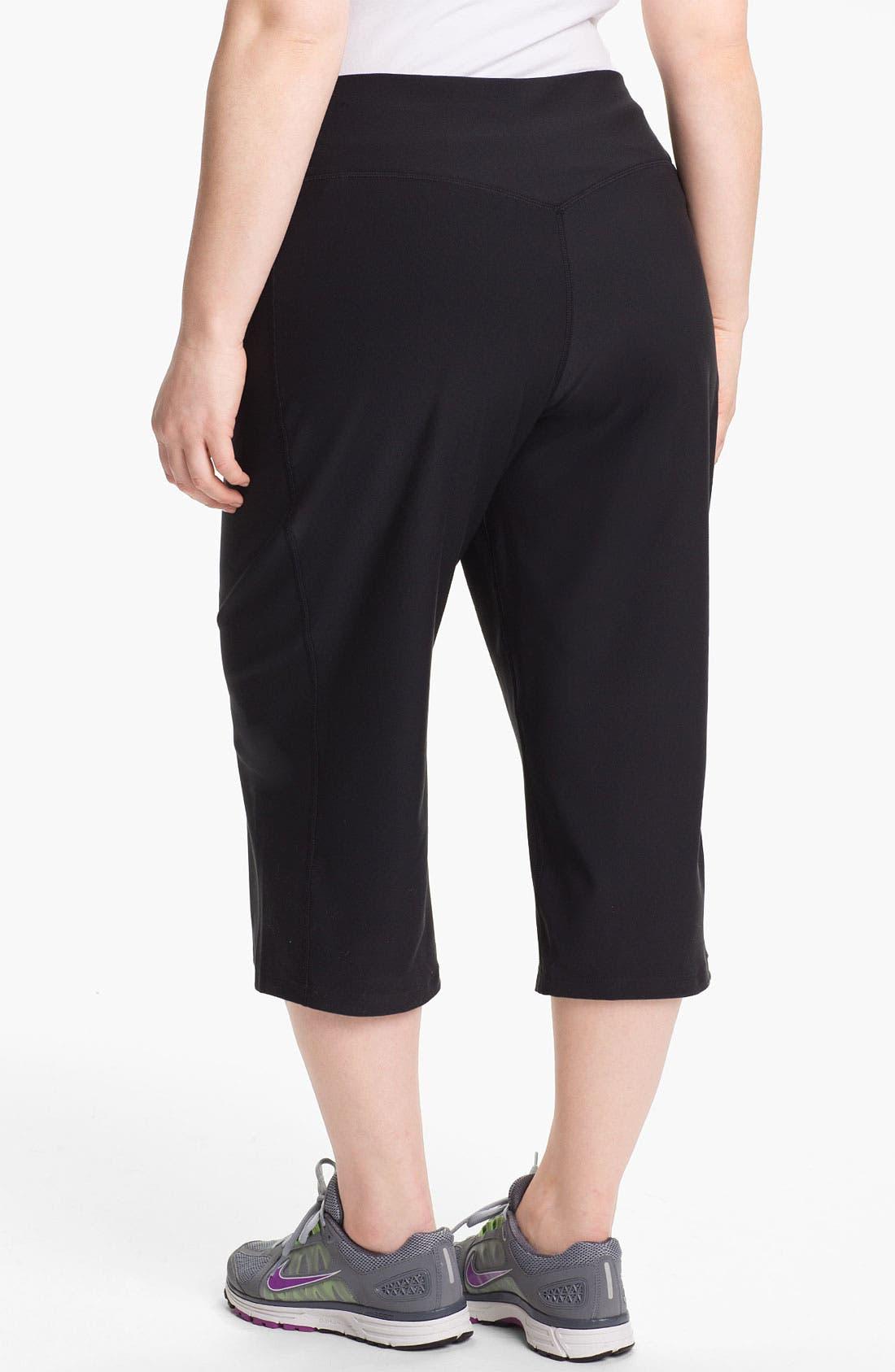 Alternate Image 2  - Nike 'Legend 2.0 Regular Poly' Capri Pants (Plus Size)