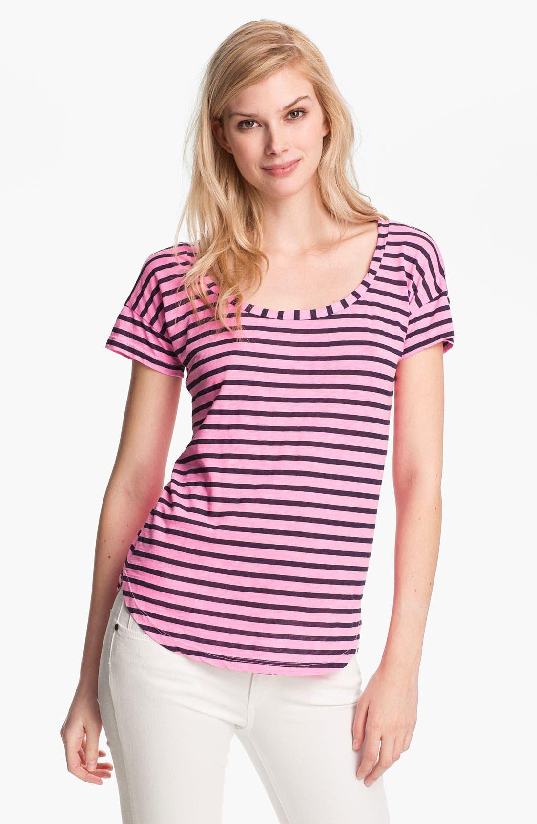 Alternate Image 1 Selected - Splendid 'Miami' Stripe Tee