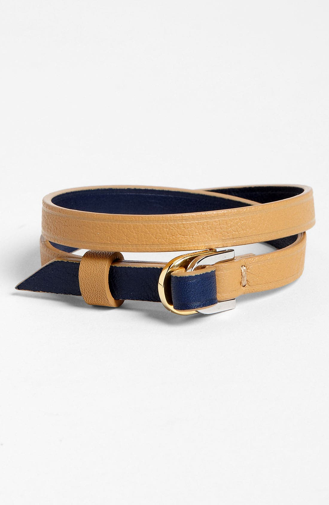 Alternate Image 1 Selected - WANT Les Essentiels de la Vie 'Arlanda' Reversible Leather Bracelet