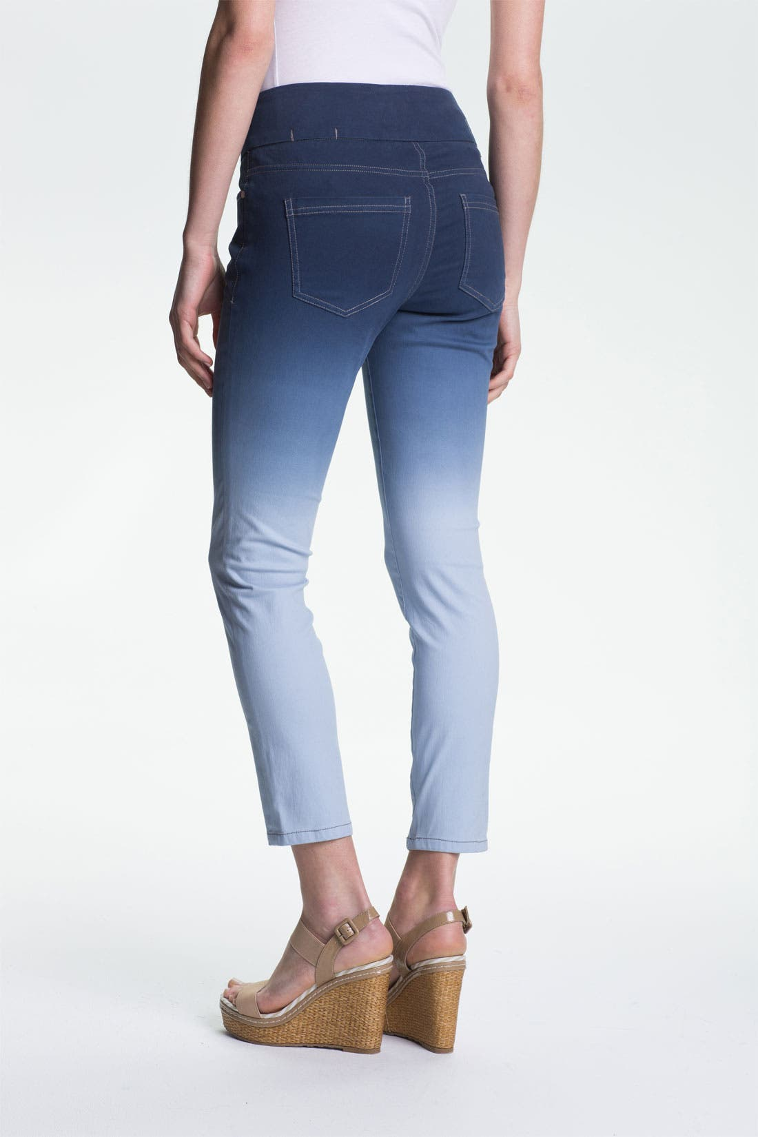 Alternate Image 3  - Jag Jeans 'Amelia' Pull-On Slim Ankle Jeans