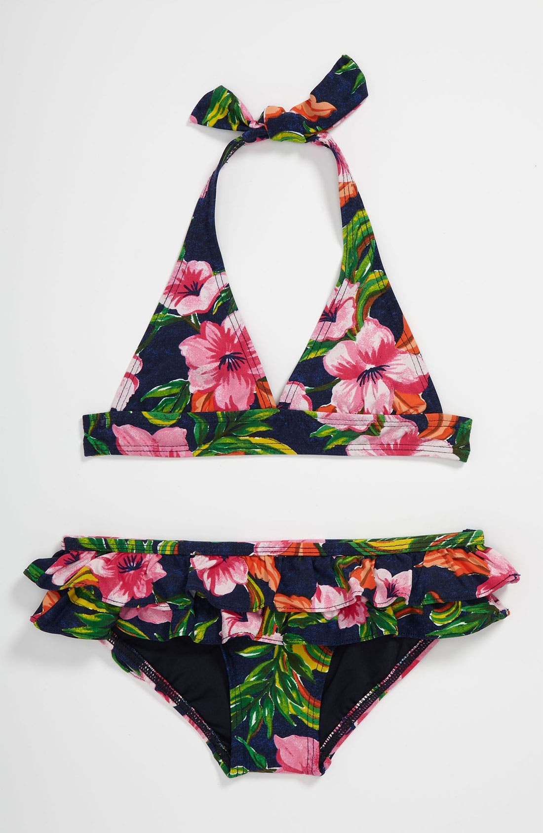 Alternate Image 1 Selected - Juicy Couture Two Piece Bikini Swimsuit (Little Girls)
