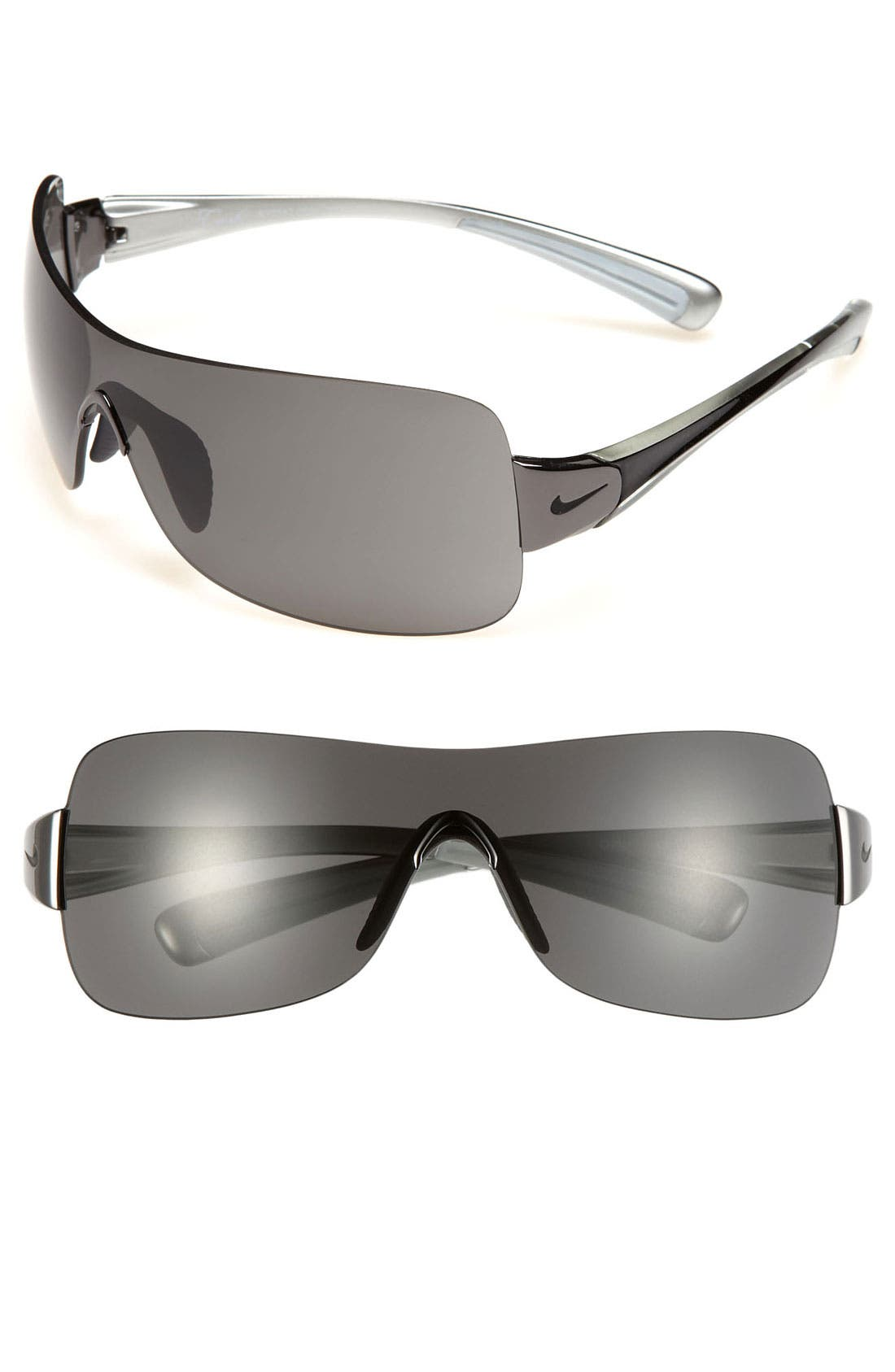 Alternate Image 1 Selected - Nike 'Crush' 61mm Rimless Shield Sunglasses