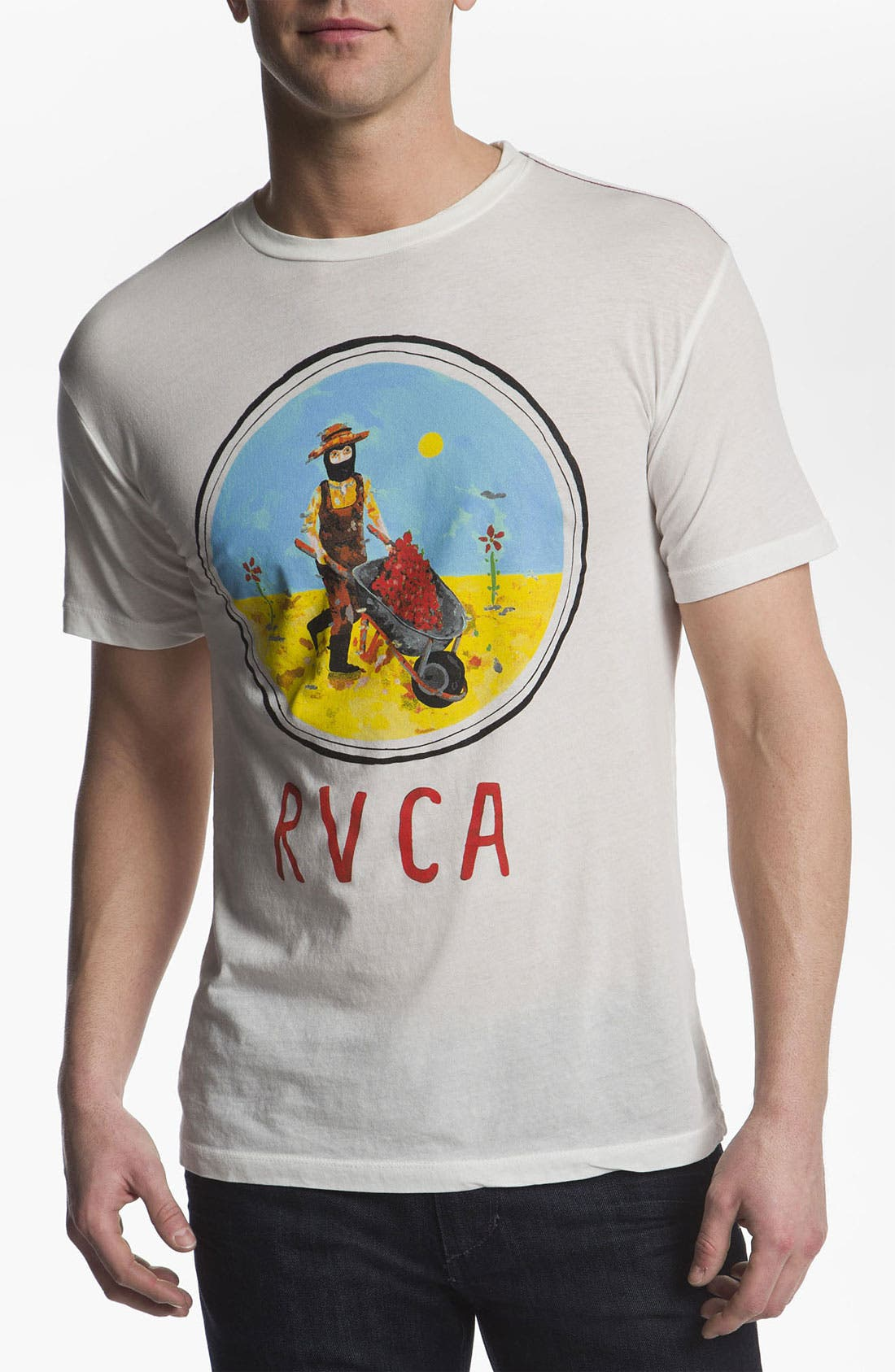 Alternate Image 1 Selected - RVCA 'Gardener' T-Shirt