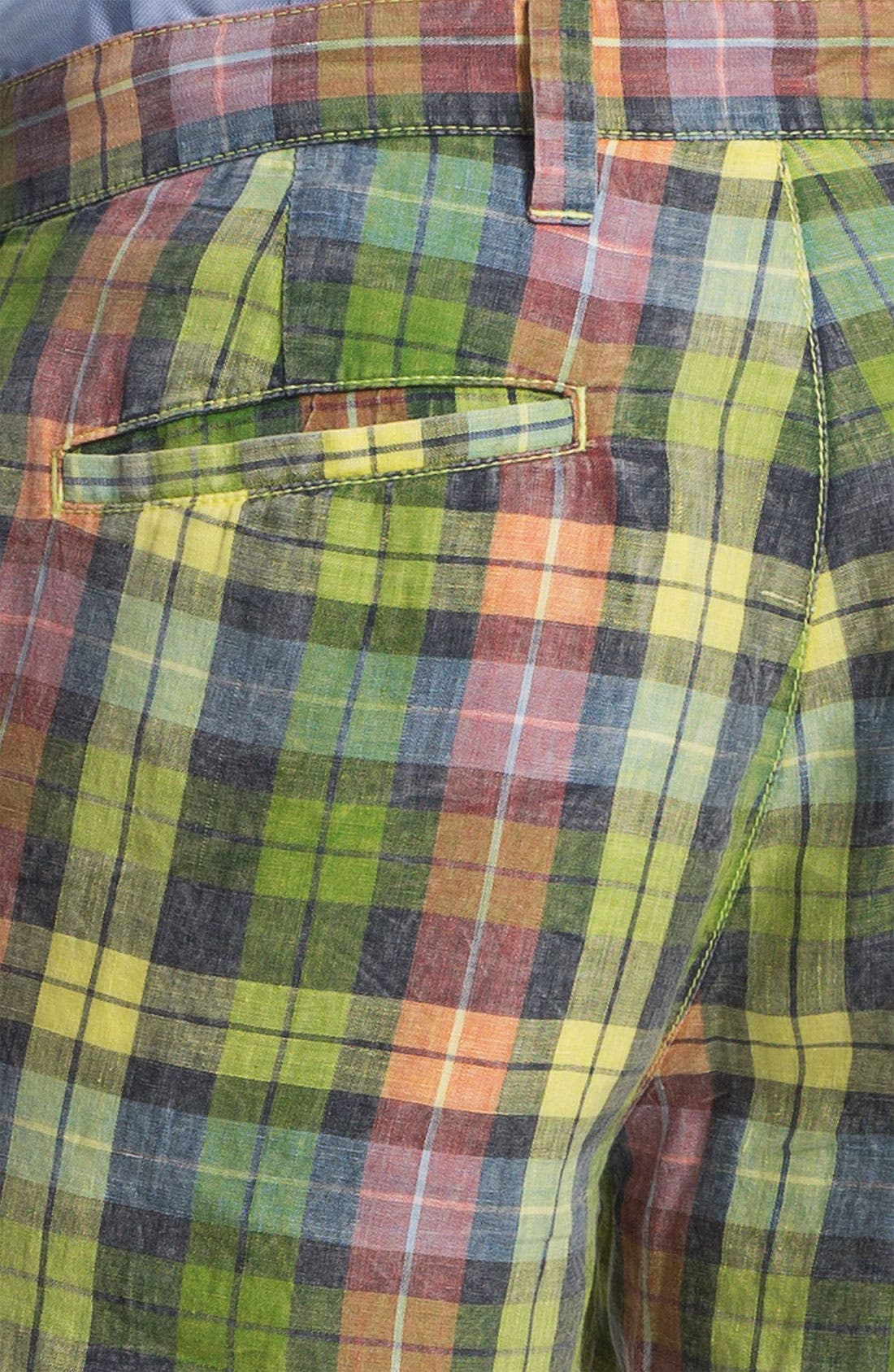 Alternate Image 4  - Tailor Vintage Reversible Linen Shorts