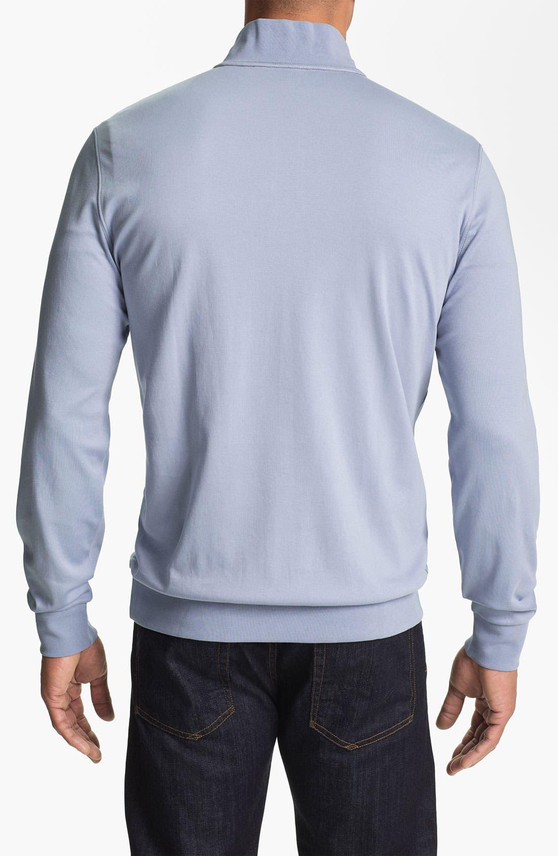 Alternate Image 2  - Robert Barakett 'Georgia' Half Zip Sweater