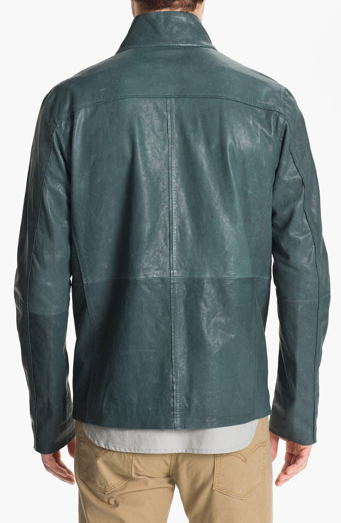Alternate Image 2  - Edun Leather Field Jacket